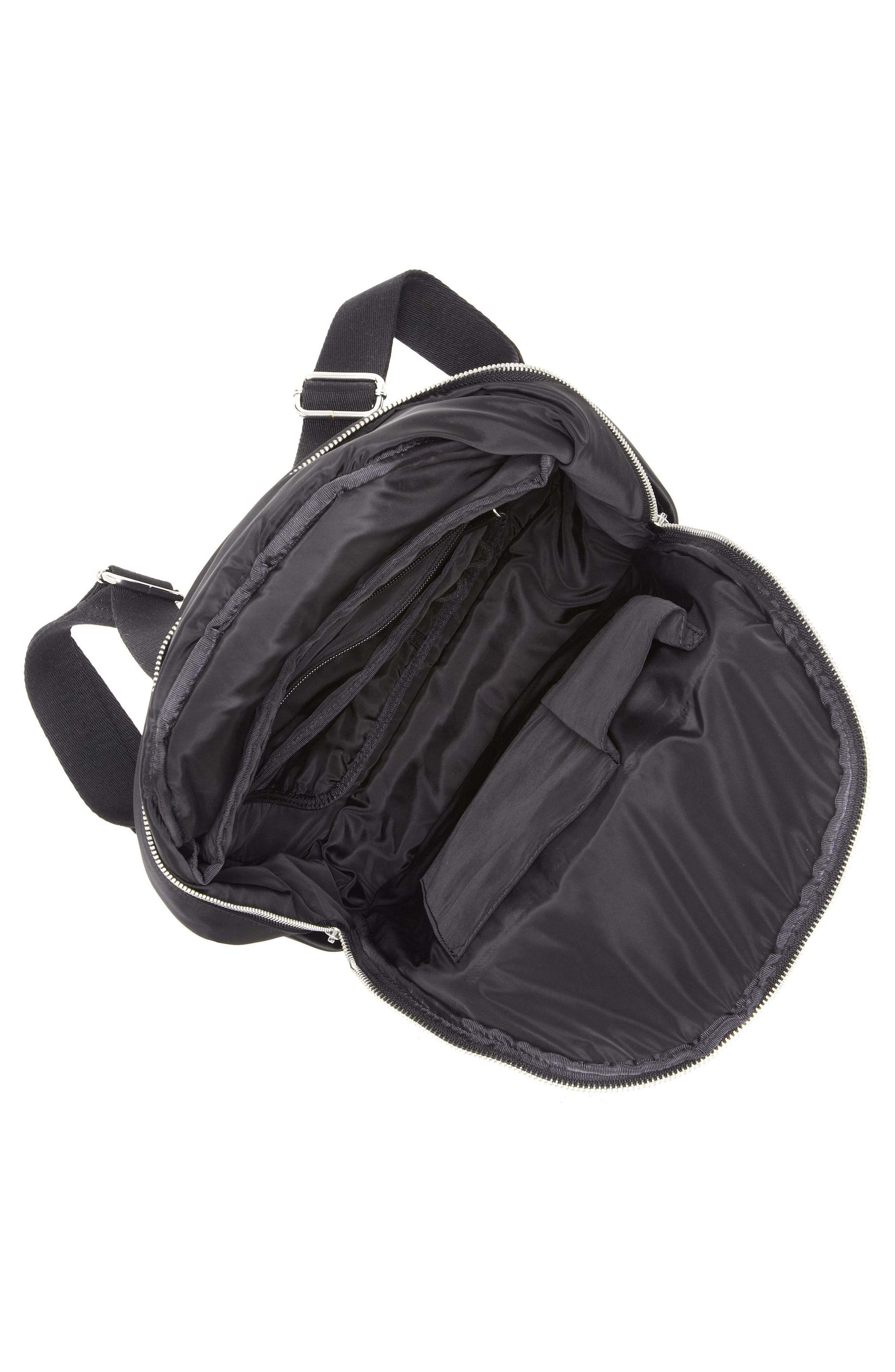 Action Nylon Backpack,                             Alternate thumbnail 3, color,                             001