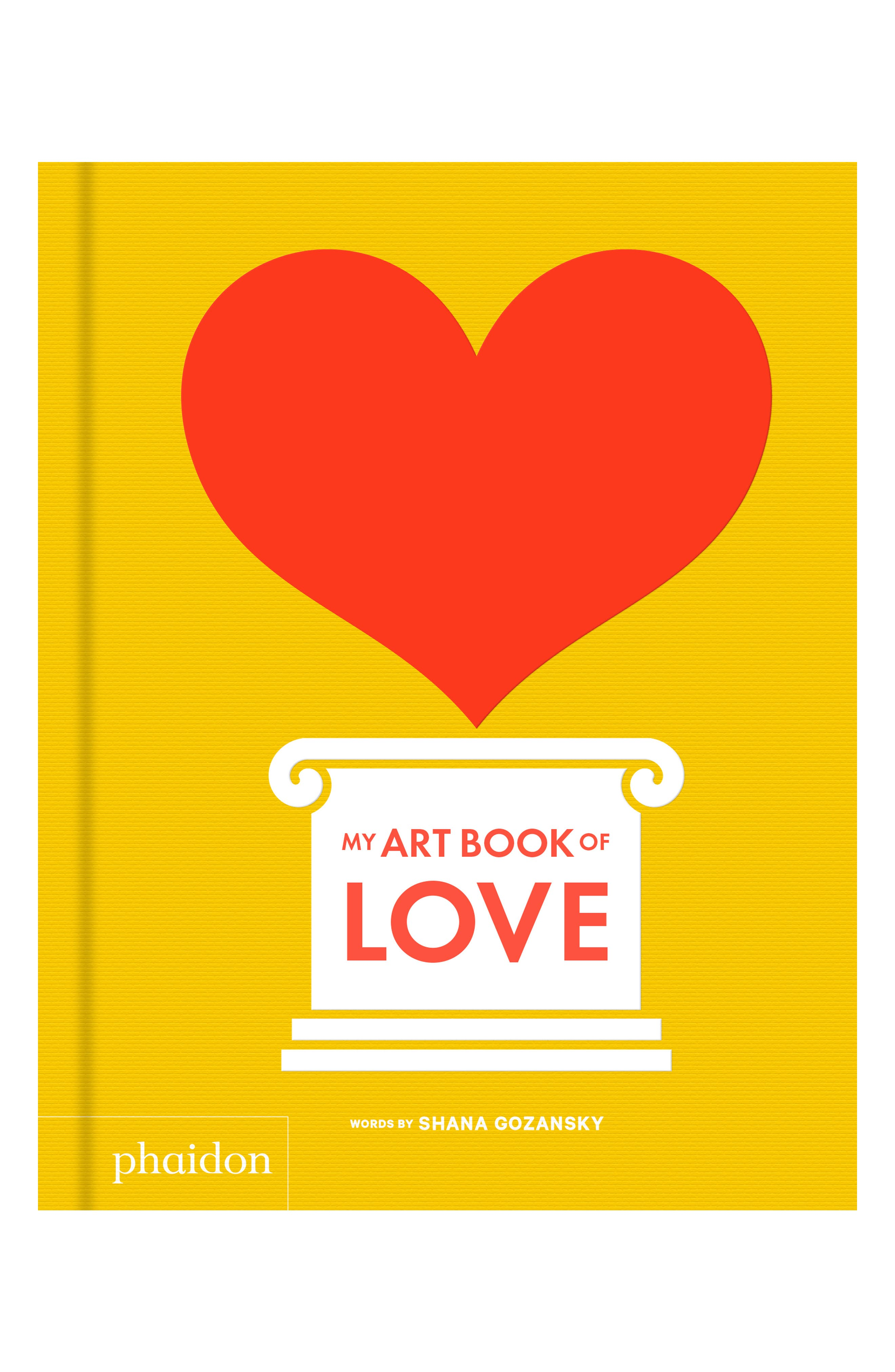 'My Art Book of Love' Book,                             Main thumbnail 1, color,                             N/A