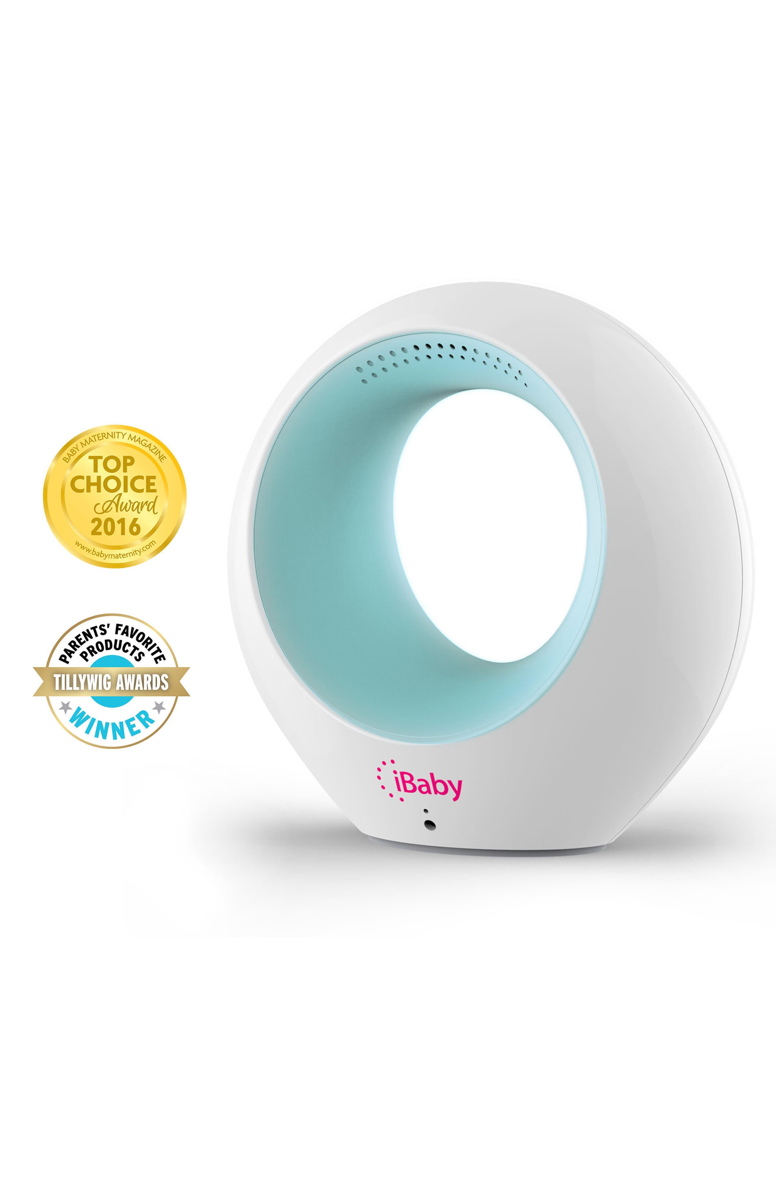 Air - Audio Baby Monitor & Air Purifier,                             Alternate thumbnail 2, color,                             WHITE