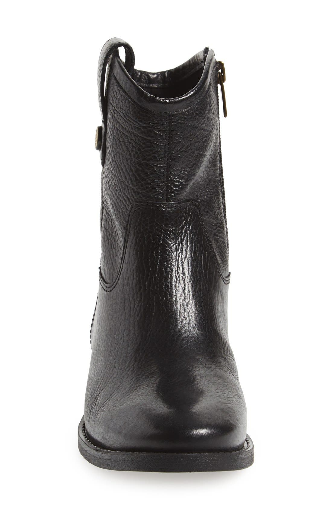 'Payatt' Short Riding Boot,                             Alternate thumbnail 4, color,                             001