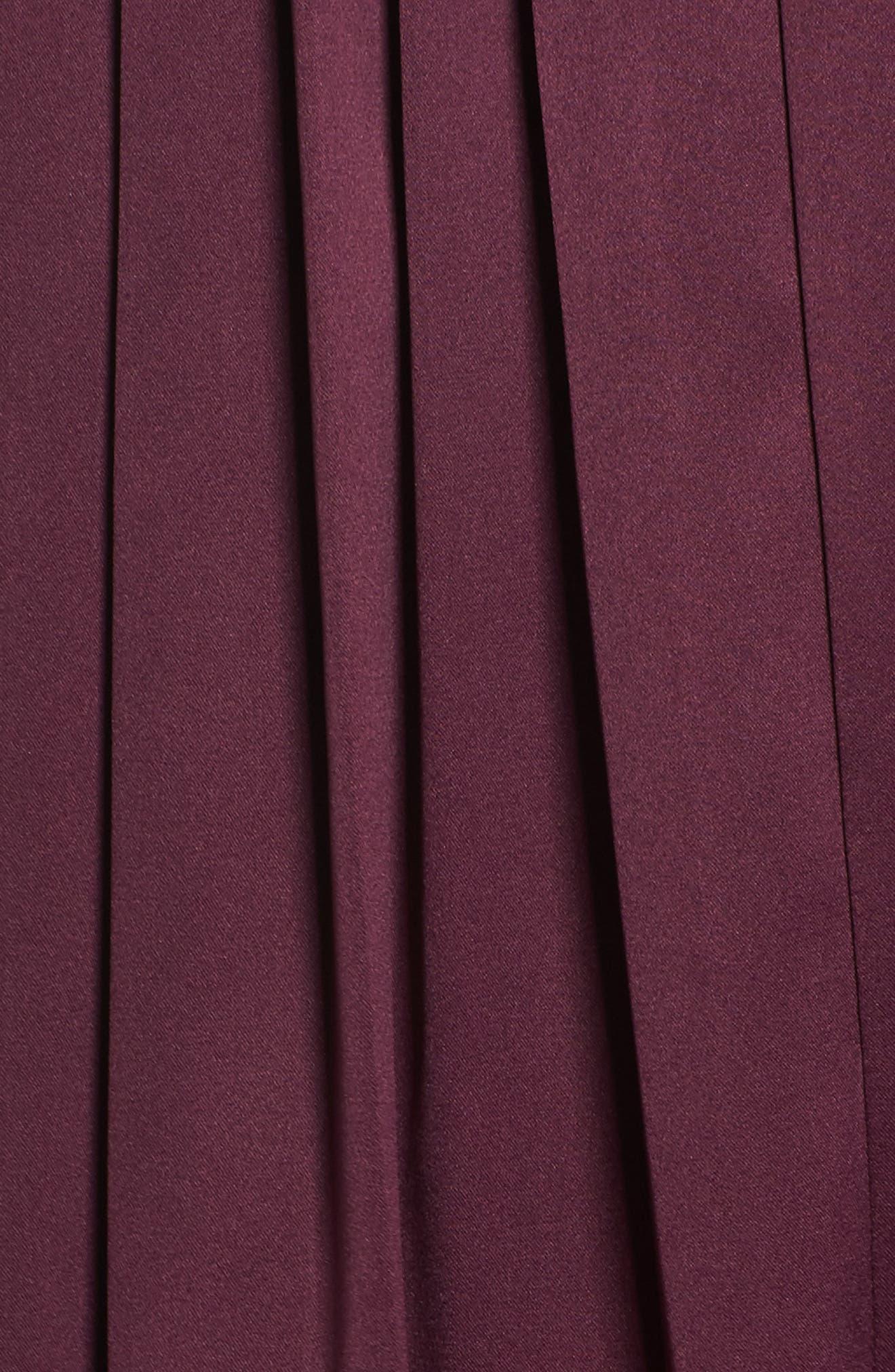 Shotgun Wedding Satin Shirtdress,                             Alternate thumbnail 5, color,
