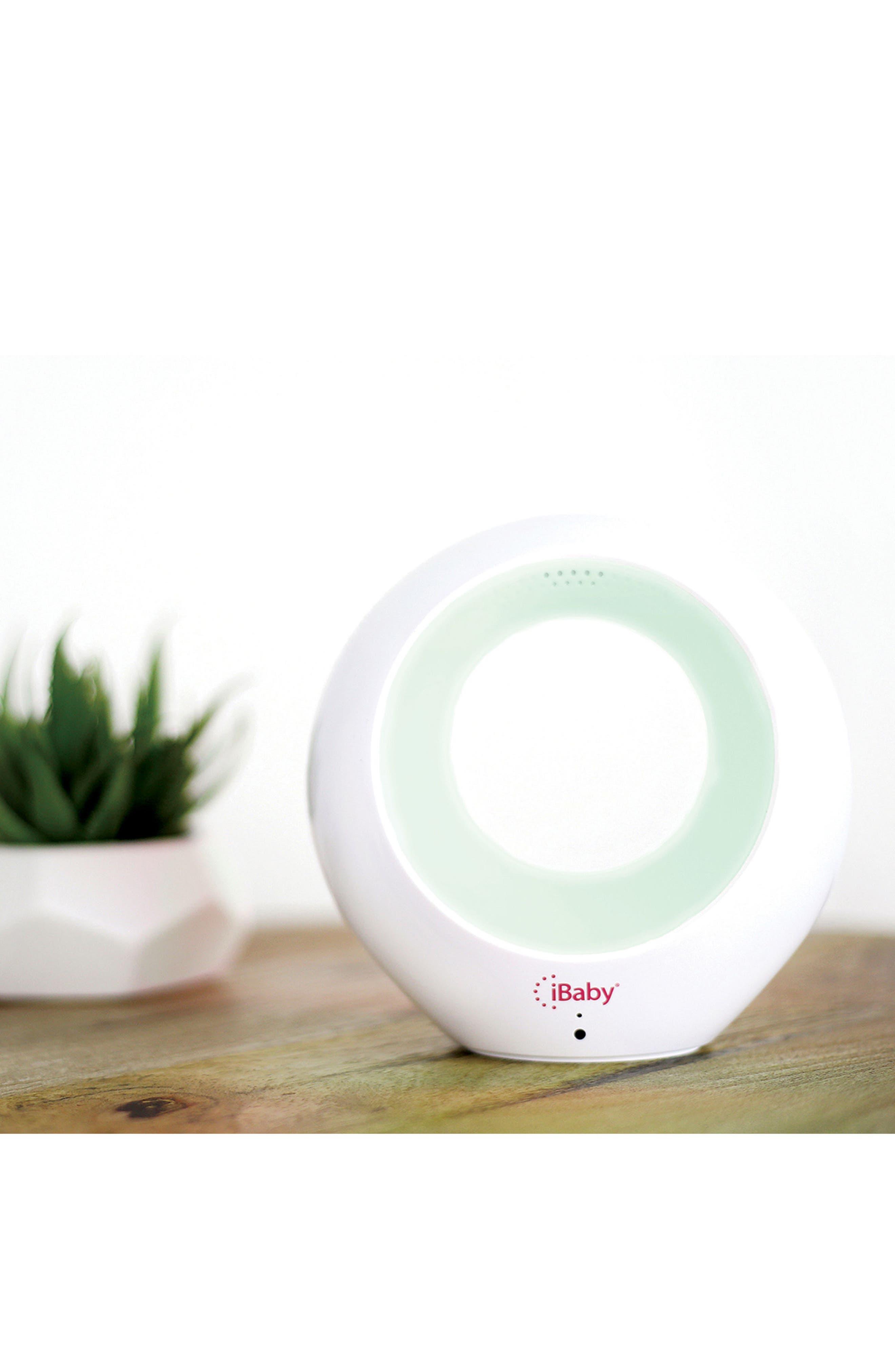 Air - Audio Baby Monitor & Air Purifier,                             Alternate thumbnail 4, color,                             WHITE