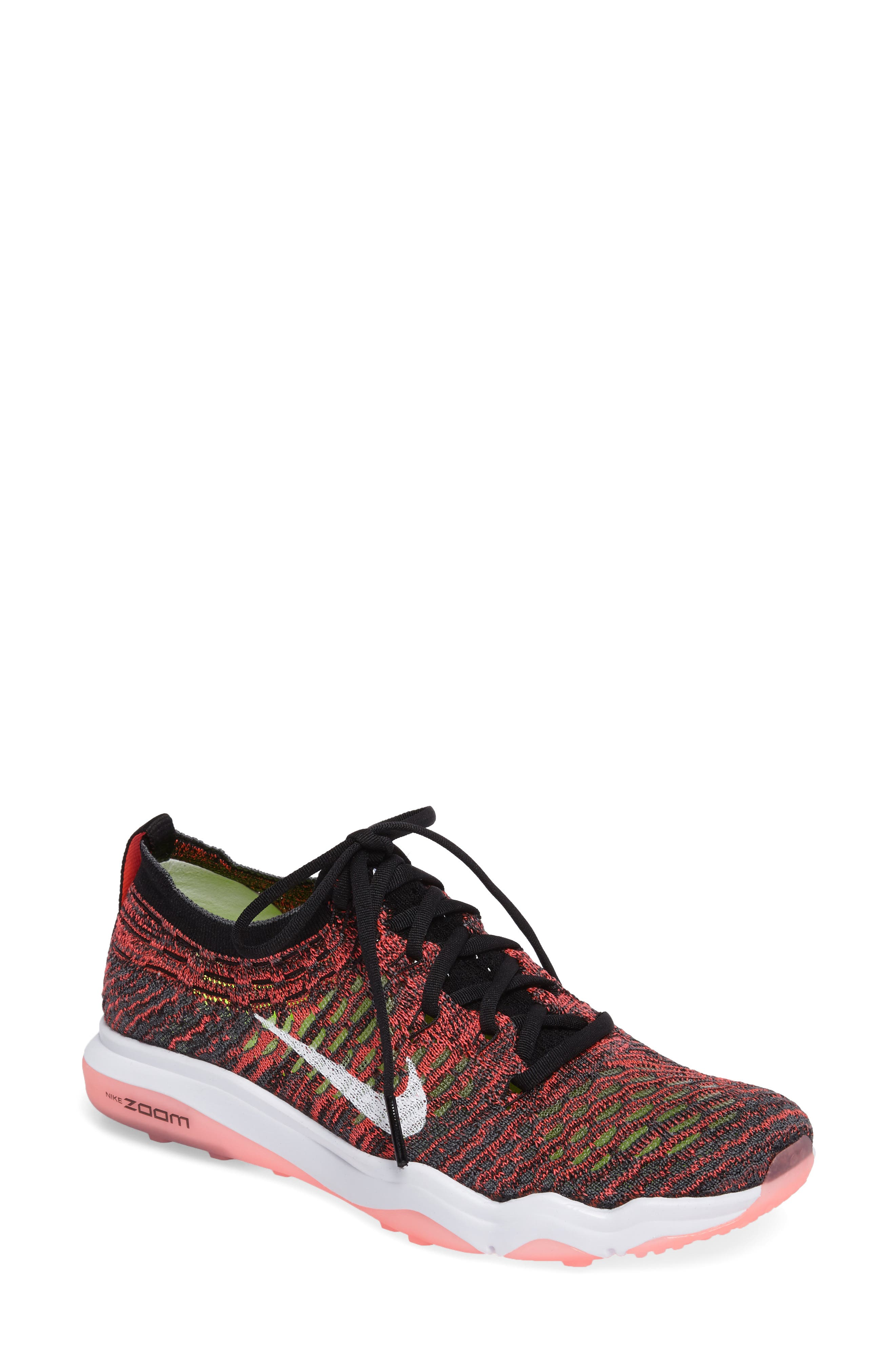 Air Zoom Fearless Flyknit Training Shoe,                             Main thumbnail 1, color,