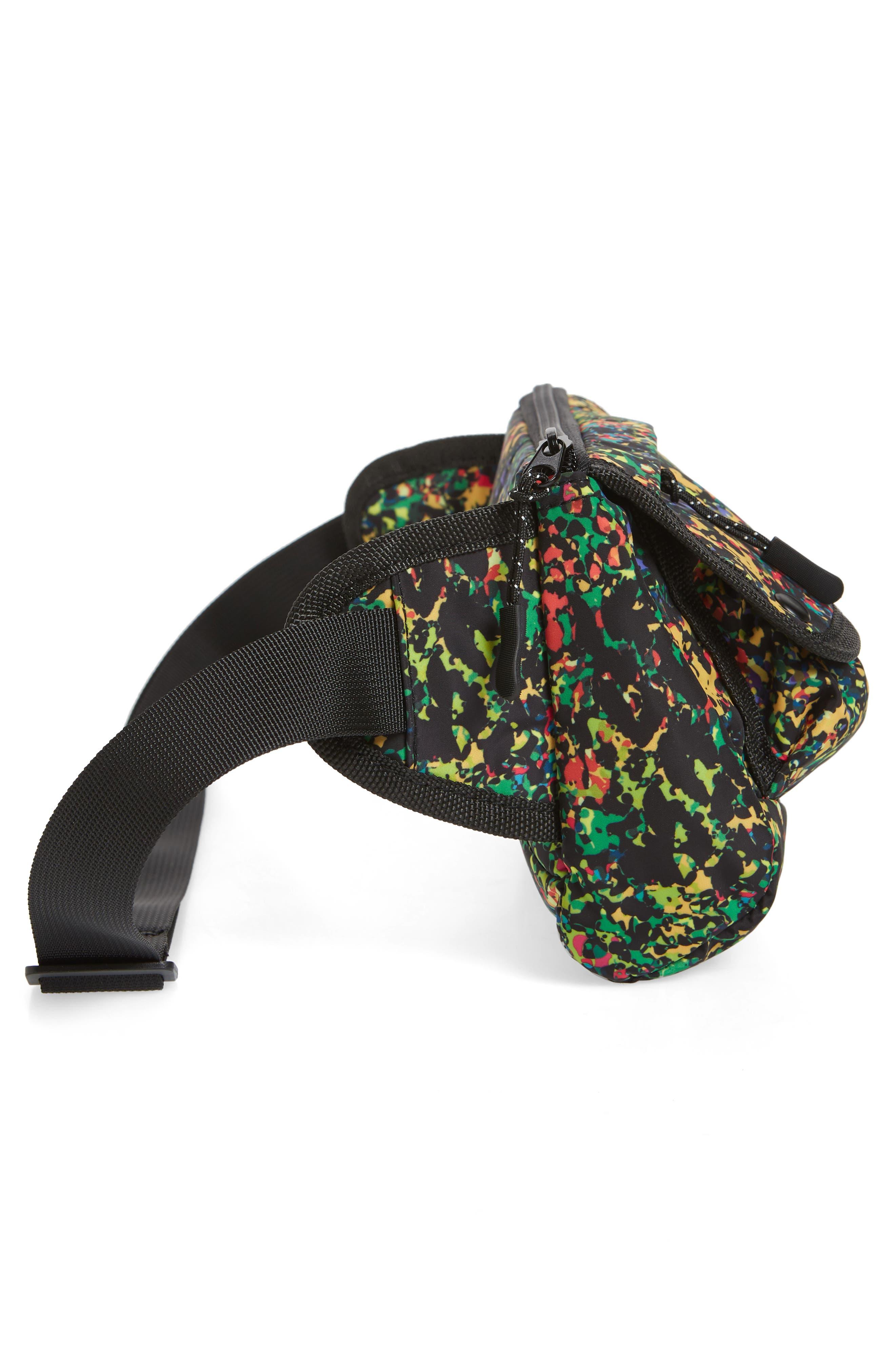 Sabre Crossbody Belt Bag,                             Alternate thumbnail 5, color,                             BLACK MULTI