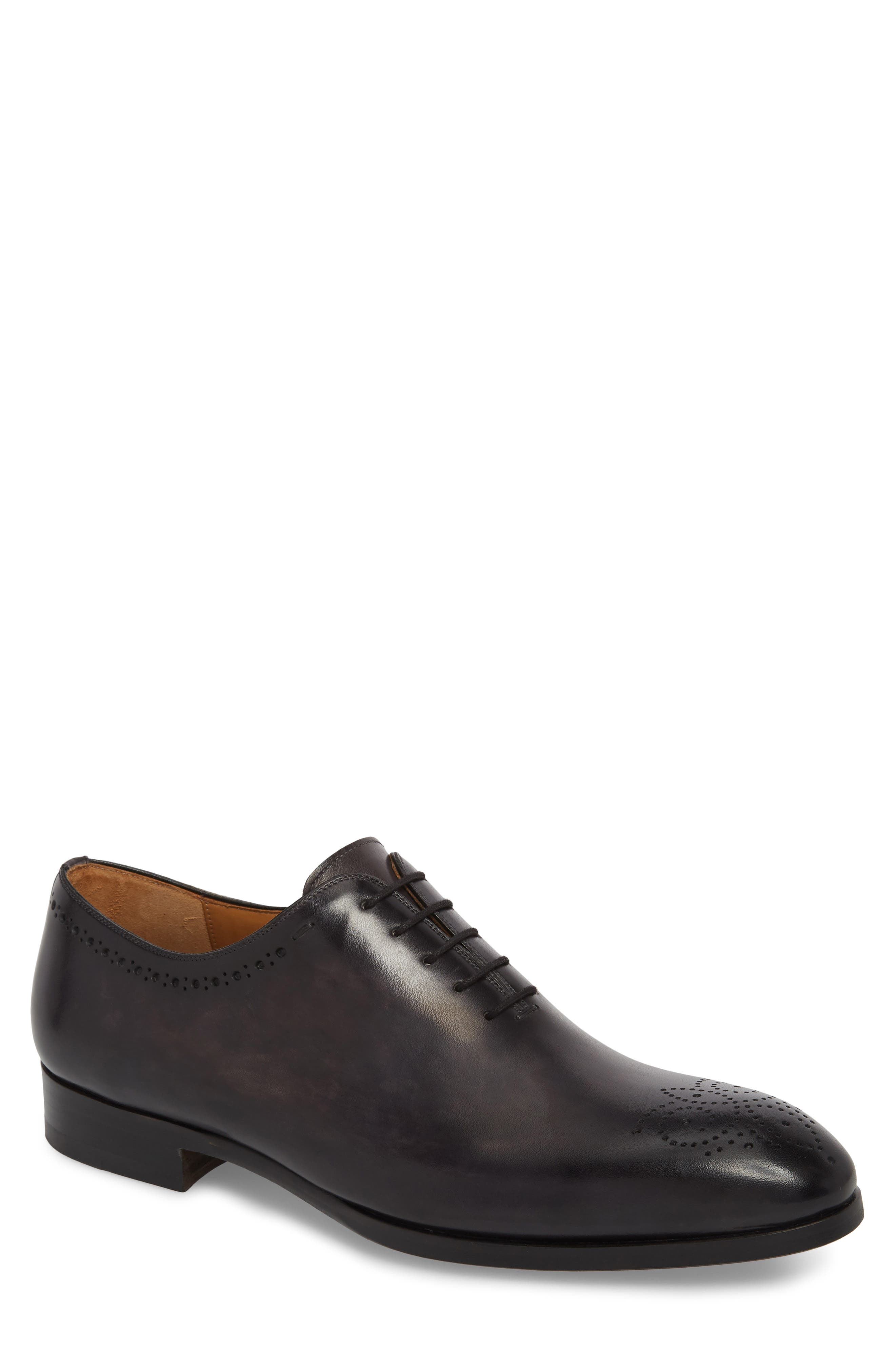 Paolo Brogued Whole Cut Shoe,                             Main thumbnail 1, color,                             020