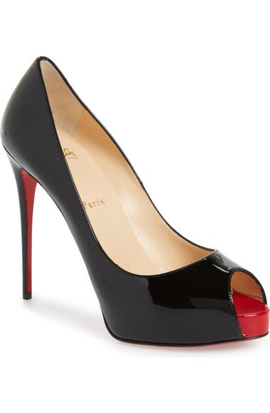 1be04633b93 Christian Louboutin  Prive  Open Toe Pump
