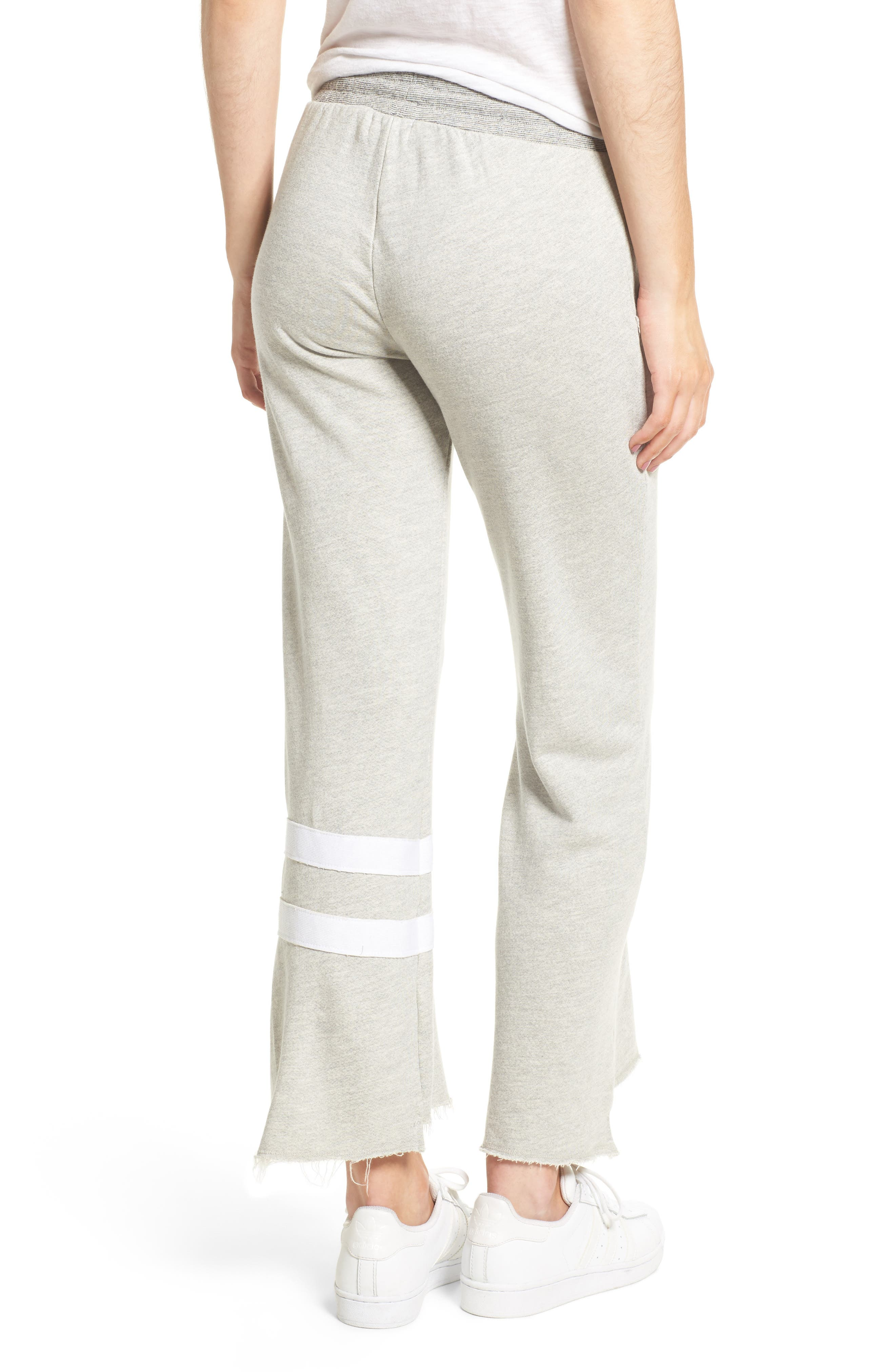 Stripe Flare Sweatpants,                             Alternate thumbnail 2, color,                             039