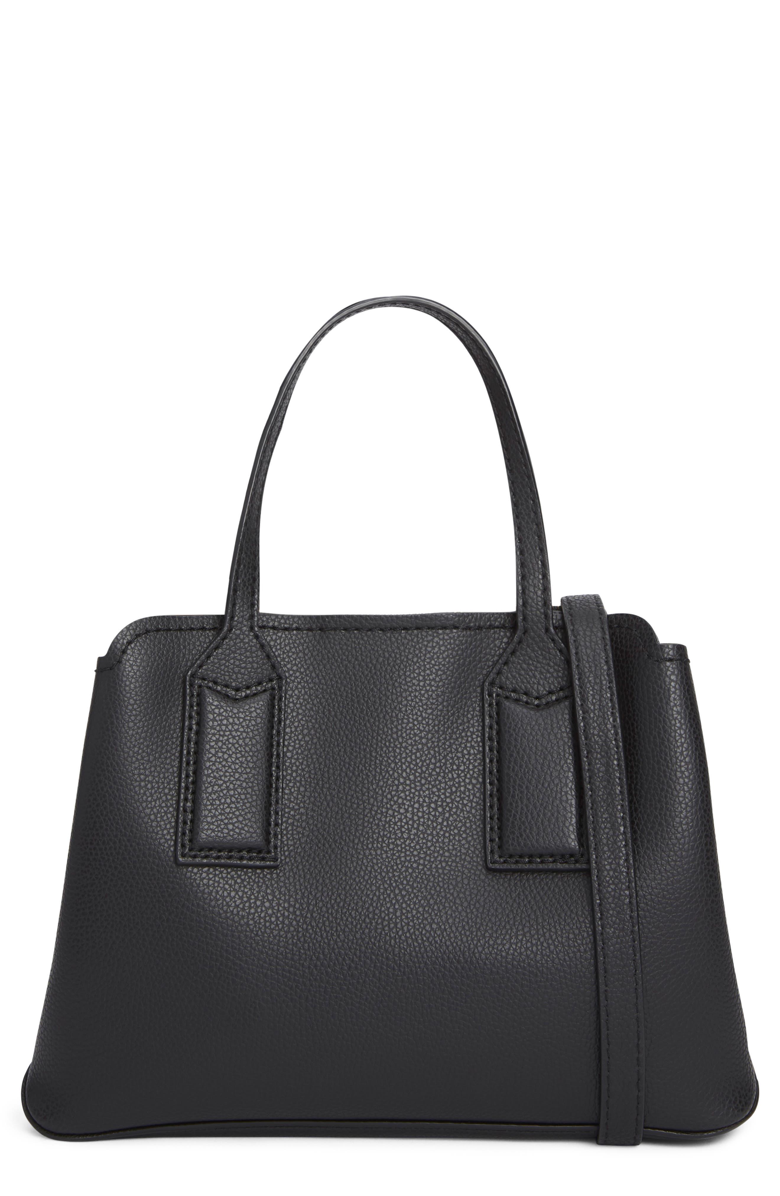The Editor 29 Leather Crossbody Bag,                             Alternate thumbnail 3, color,                             BLACK