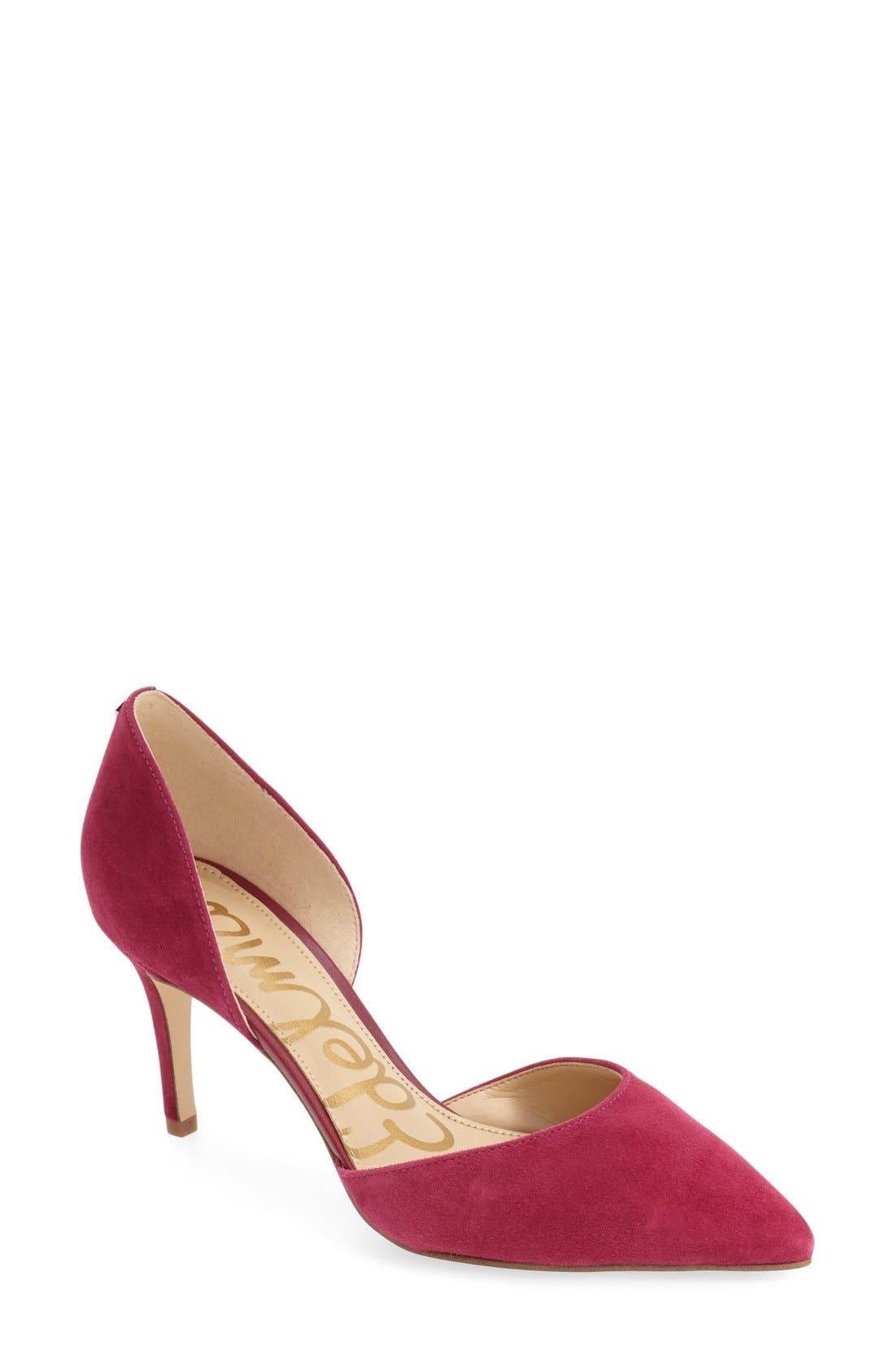 'Telsa' d'Orsay Pointy Toe Pump,                             Main thumbnail 14, color,