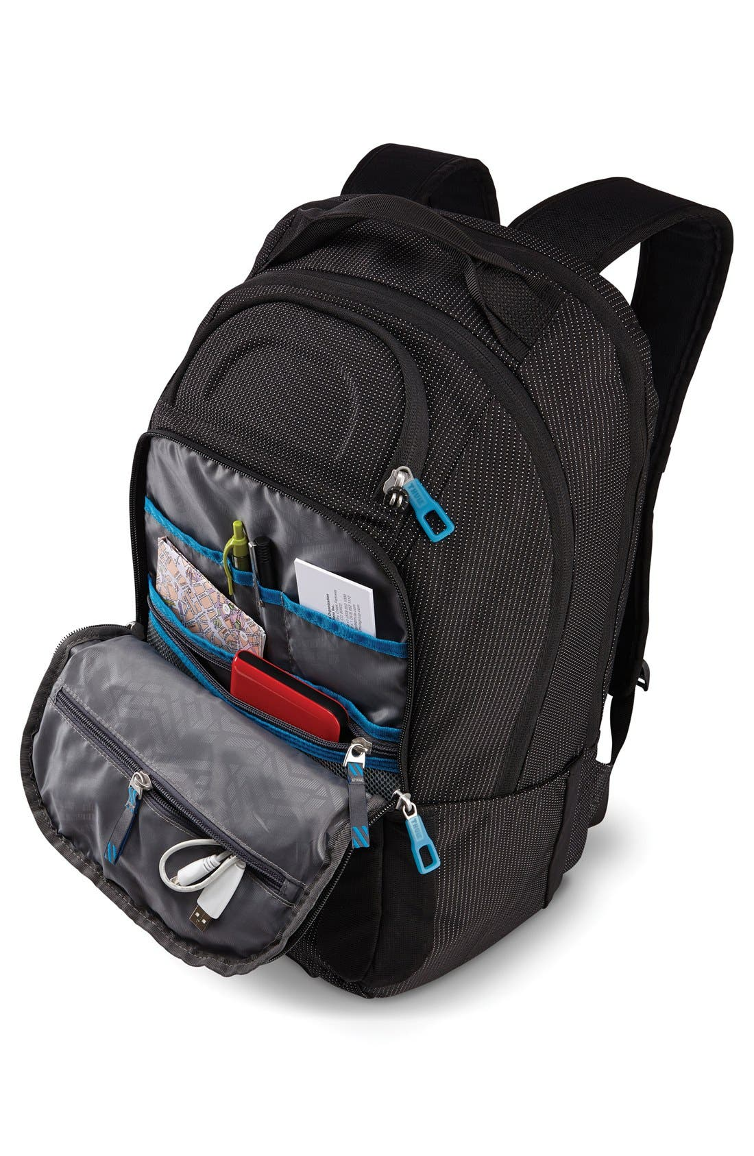 Crossover 32-Liter Backpack,                             Alternate thumbnail 5, color,                             BLACK