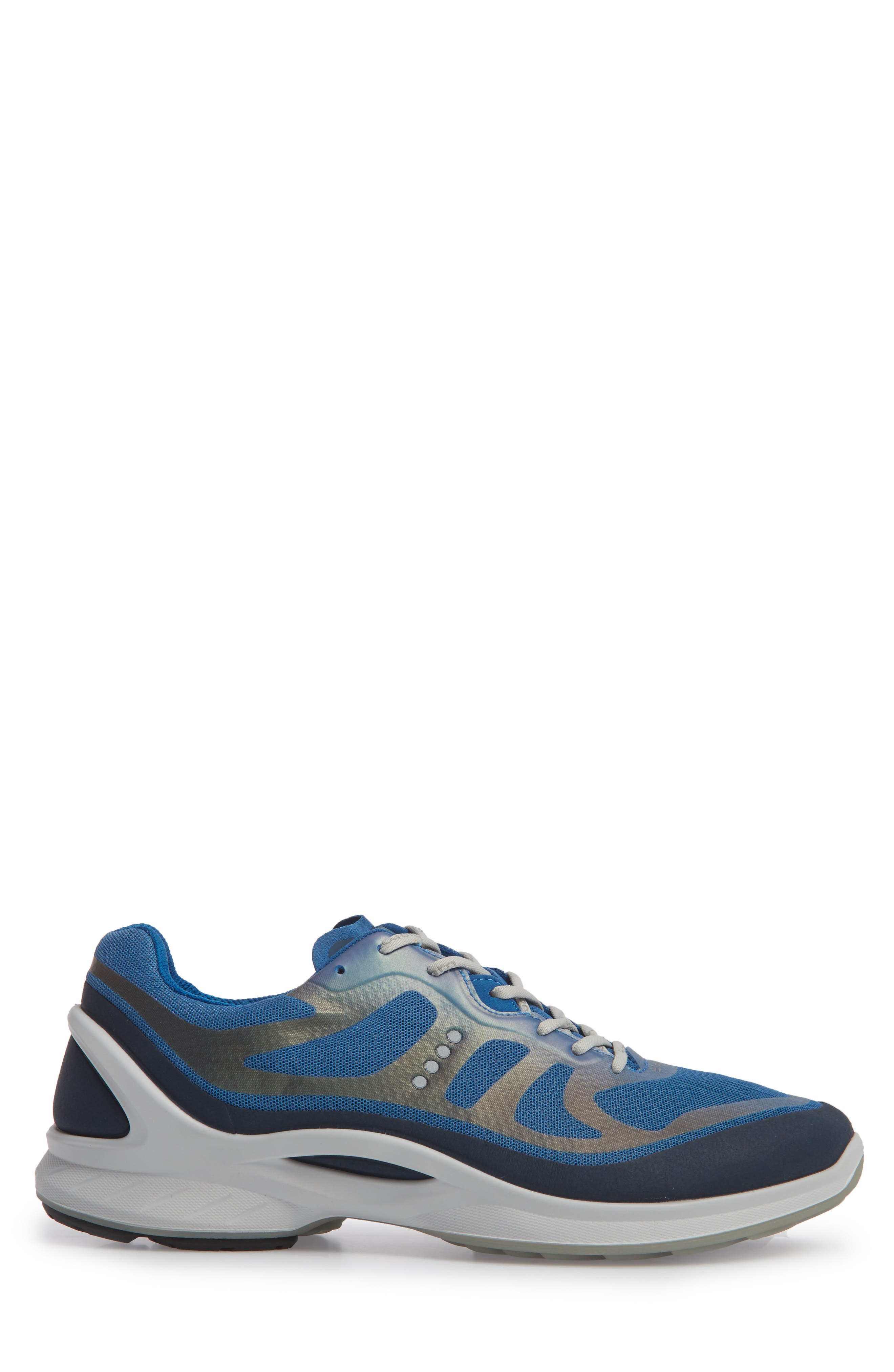 BIOM Fjuel Tie Sneaker,                             Alternate thumbnail 3, color,                             MARINE/ BLUE TEXTILE
