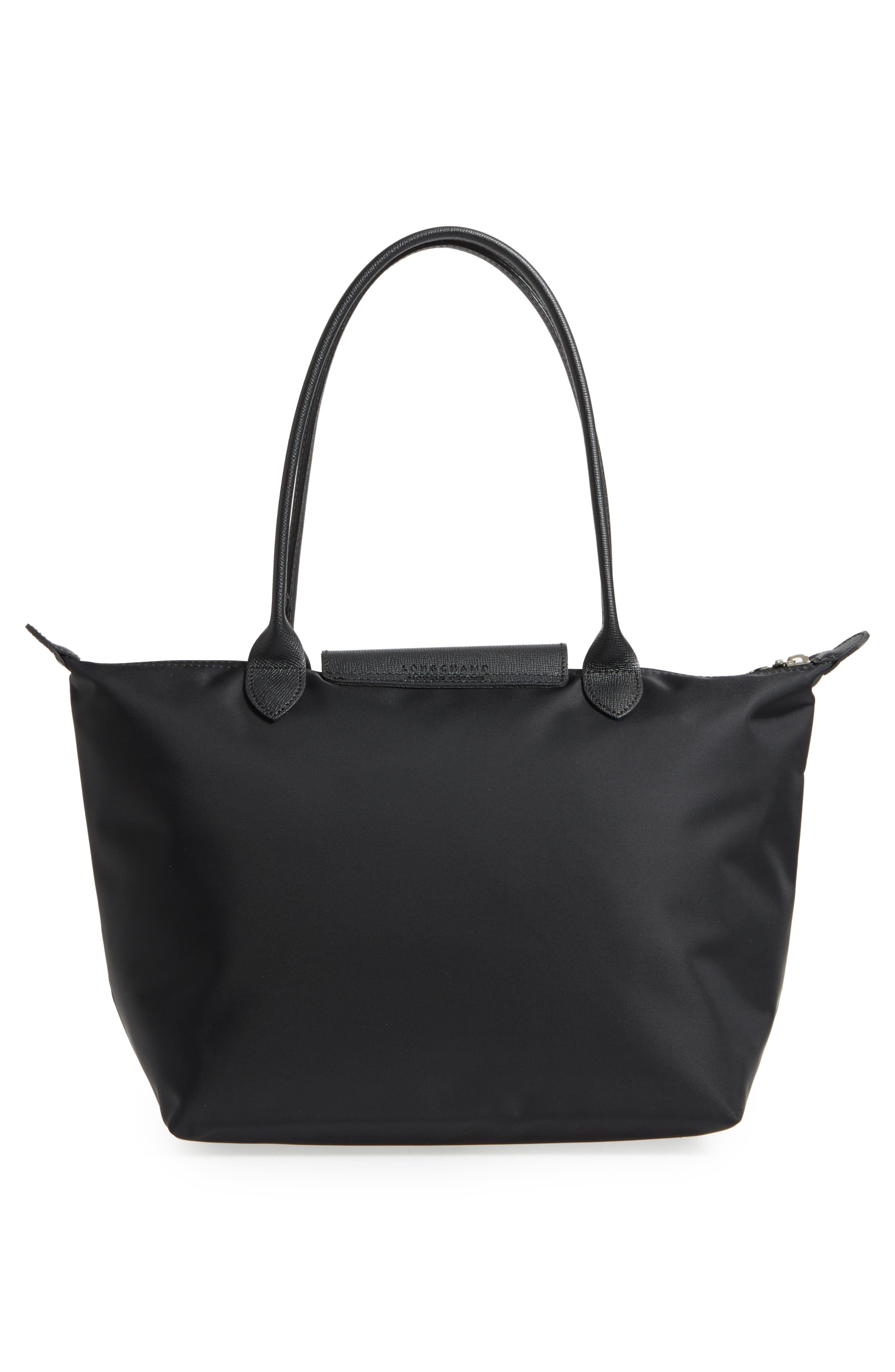 Small Le Pliage Neo Nylon Tote,                             Alternate thumbnail 3, color,                             BLACK