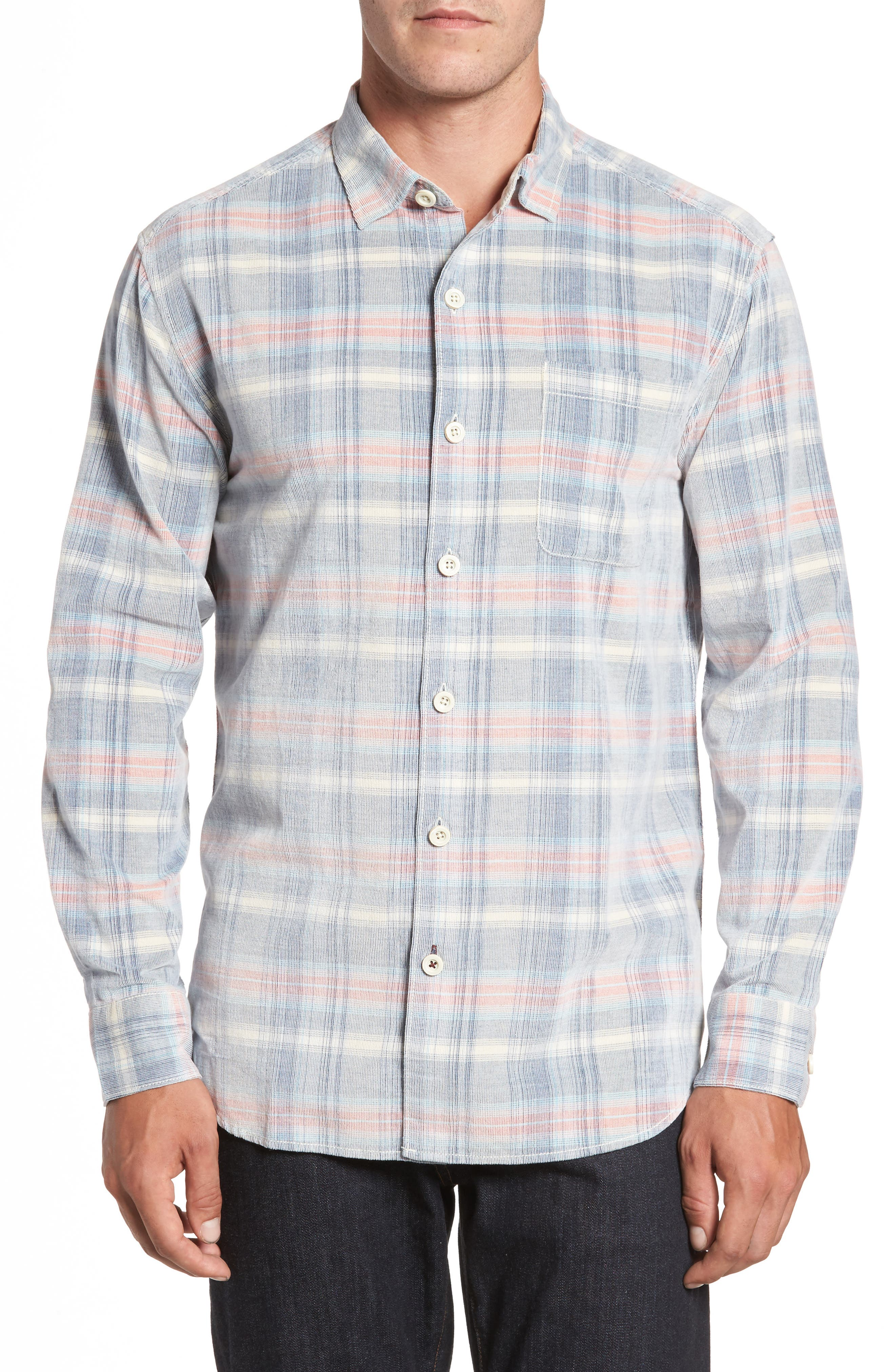 Cordwalk Plaid Plaid Sport Shirt,                             Main thumbnail 1, color,                             400