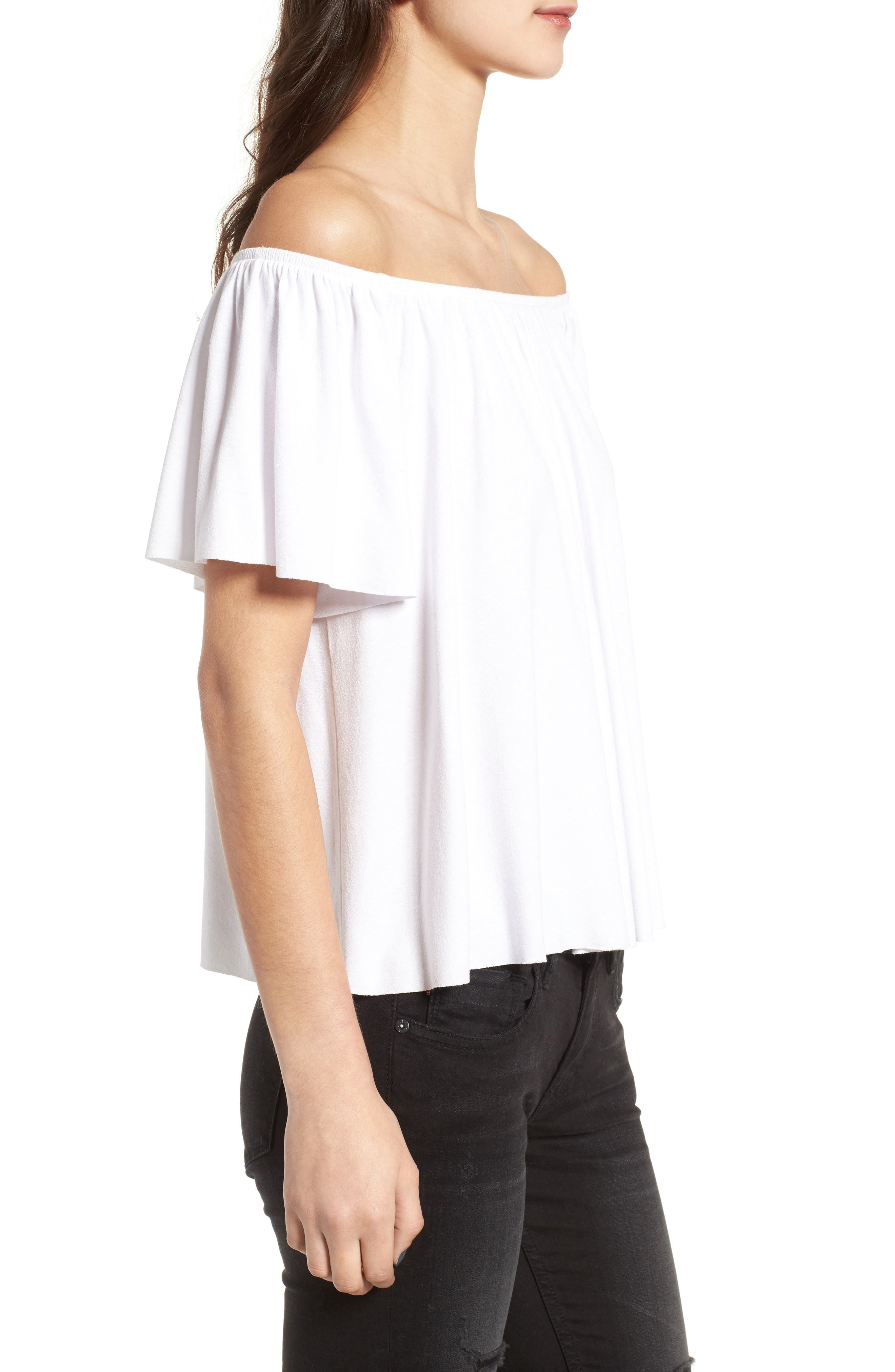Off the Shoulder Top,                             Alternate thumbnail 20, color,