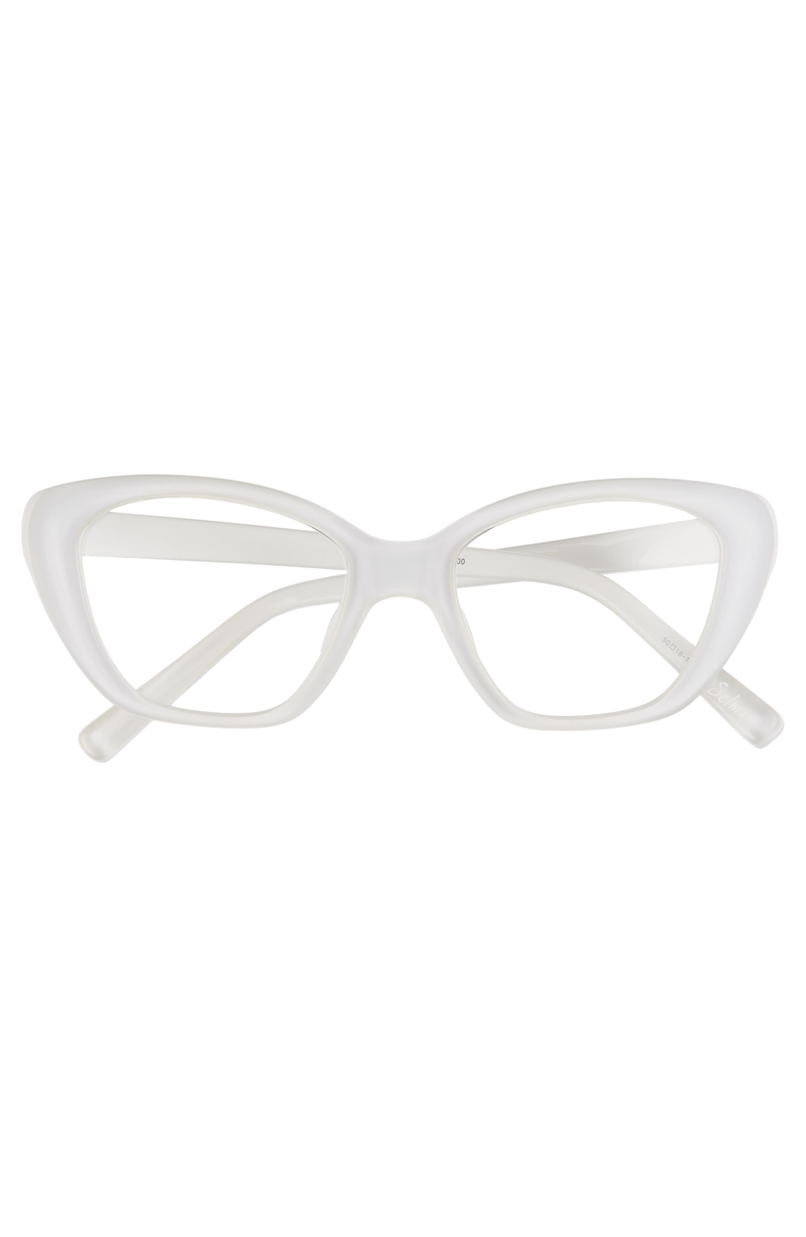 'Selma' 50mm Optical Glasses,                             Alternate thumbnail 3, color,                             100