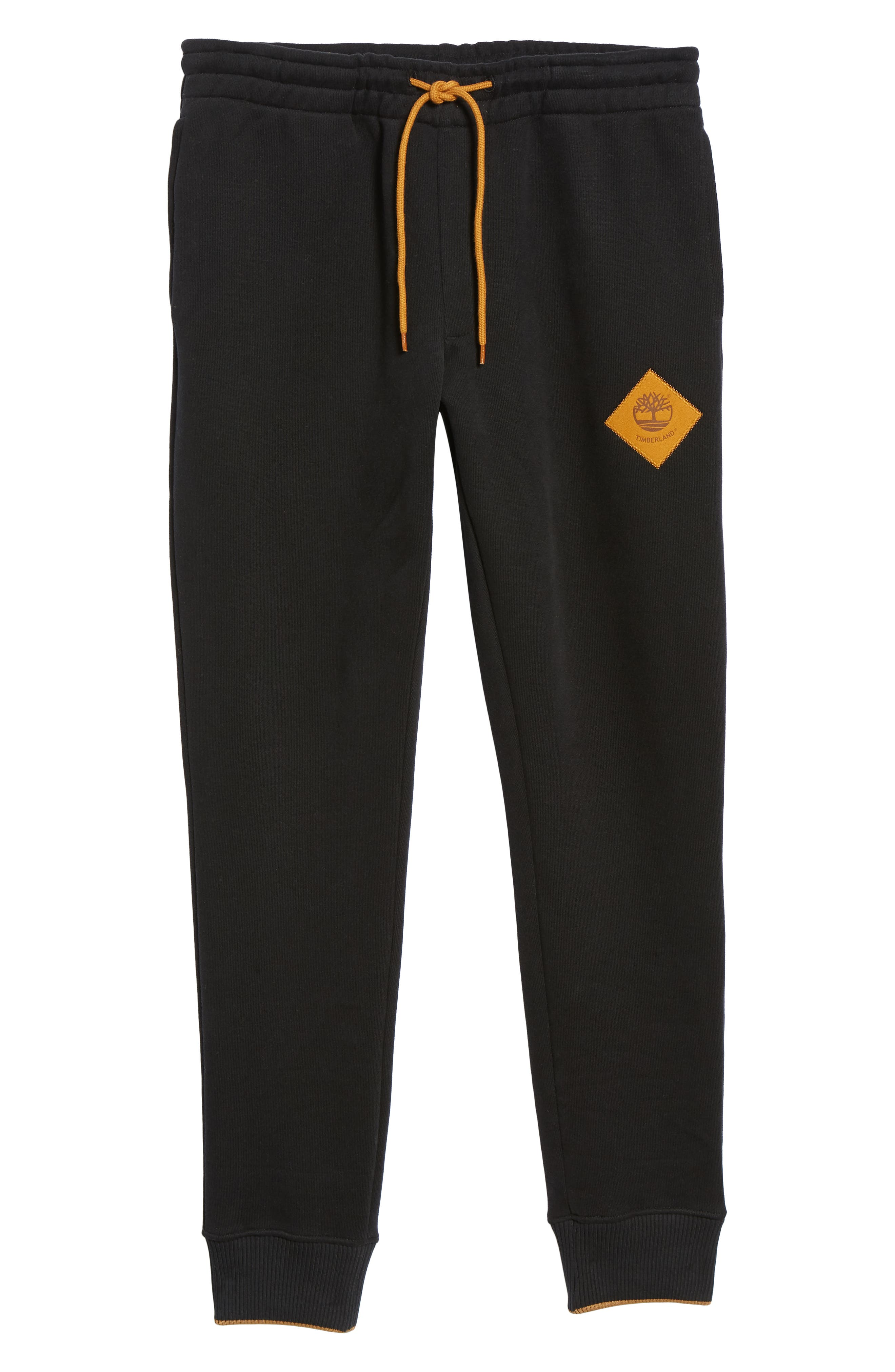 Elevated Jogger Sweatpants,                             Alternate thumbnail 6, color,                             BLACK