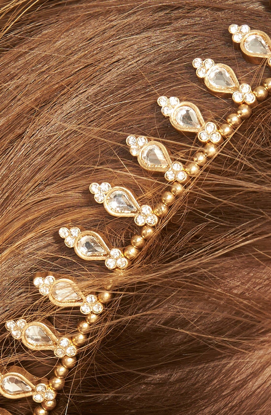 Jeweled Crown Head Wrap,                             Alternate thumbnail 2, color,                             710
