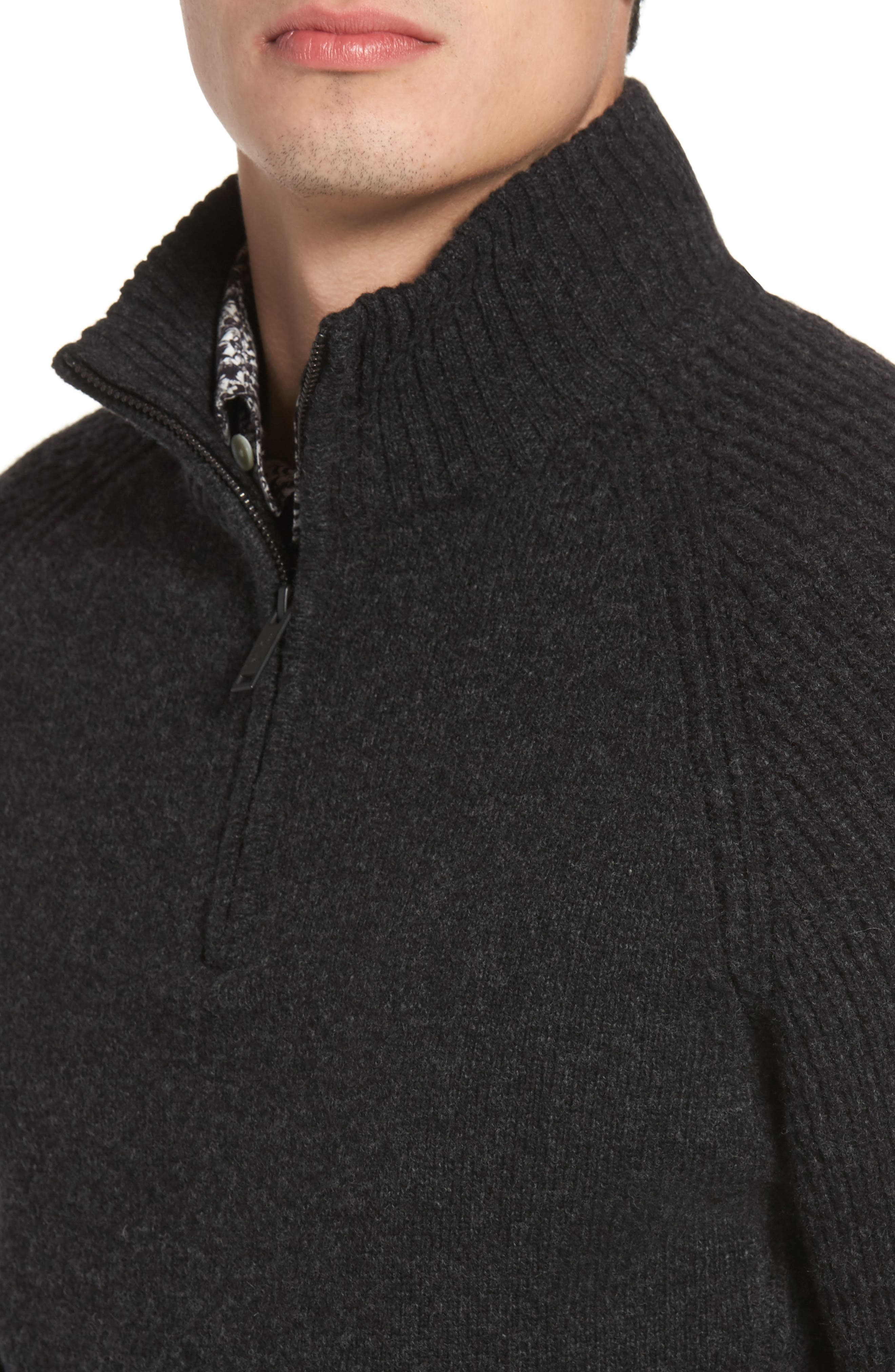 Stredwick Lambswool Sweater,                             Alternate thumbnail 4, color,                             021