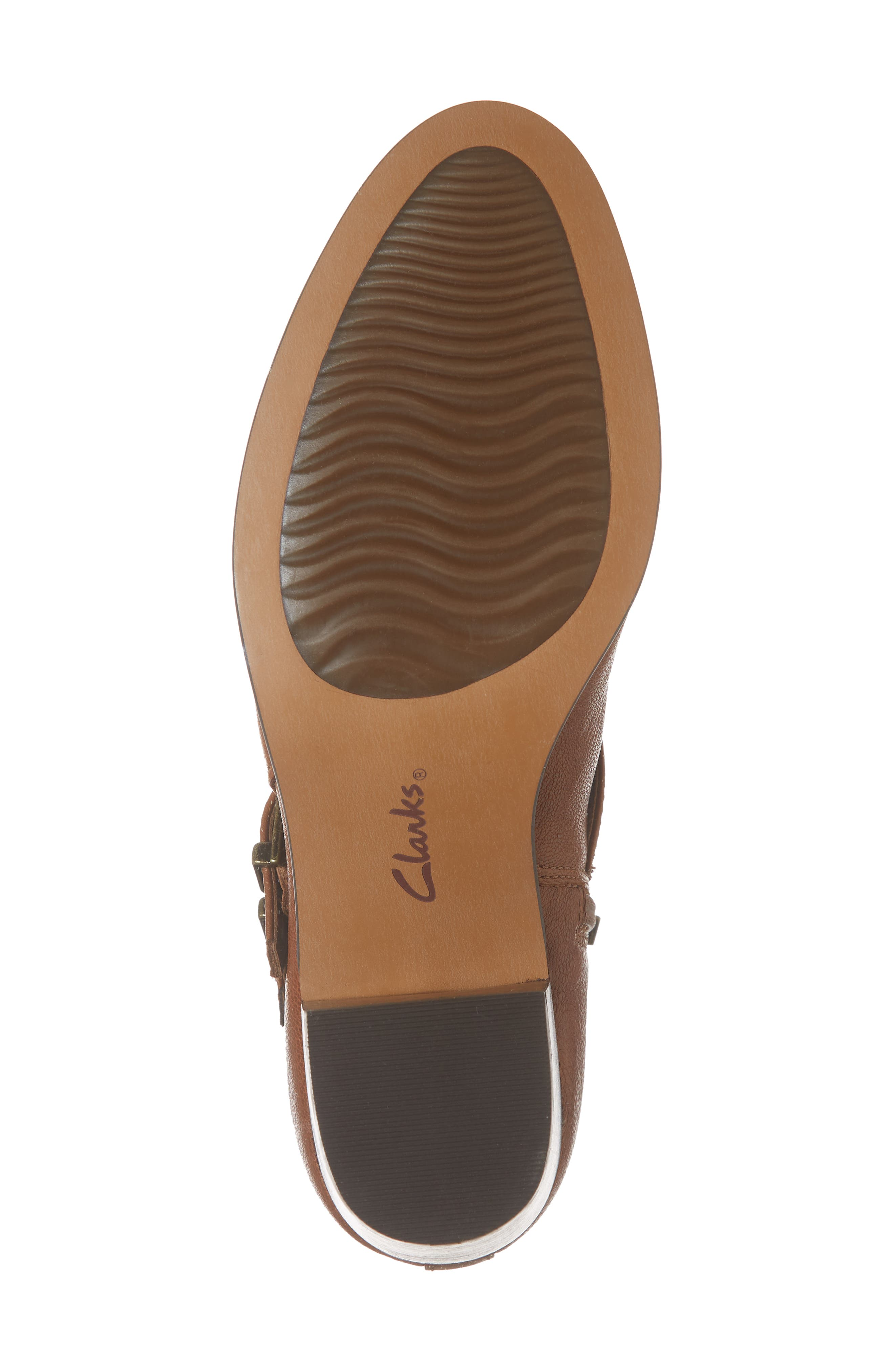 Maypearl Rayna Boot,                             Alternate thumbnail 6, color,                             DARK TAN LEATHER