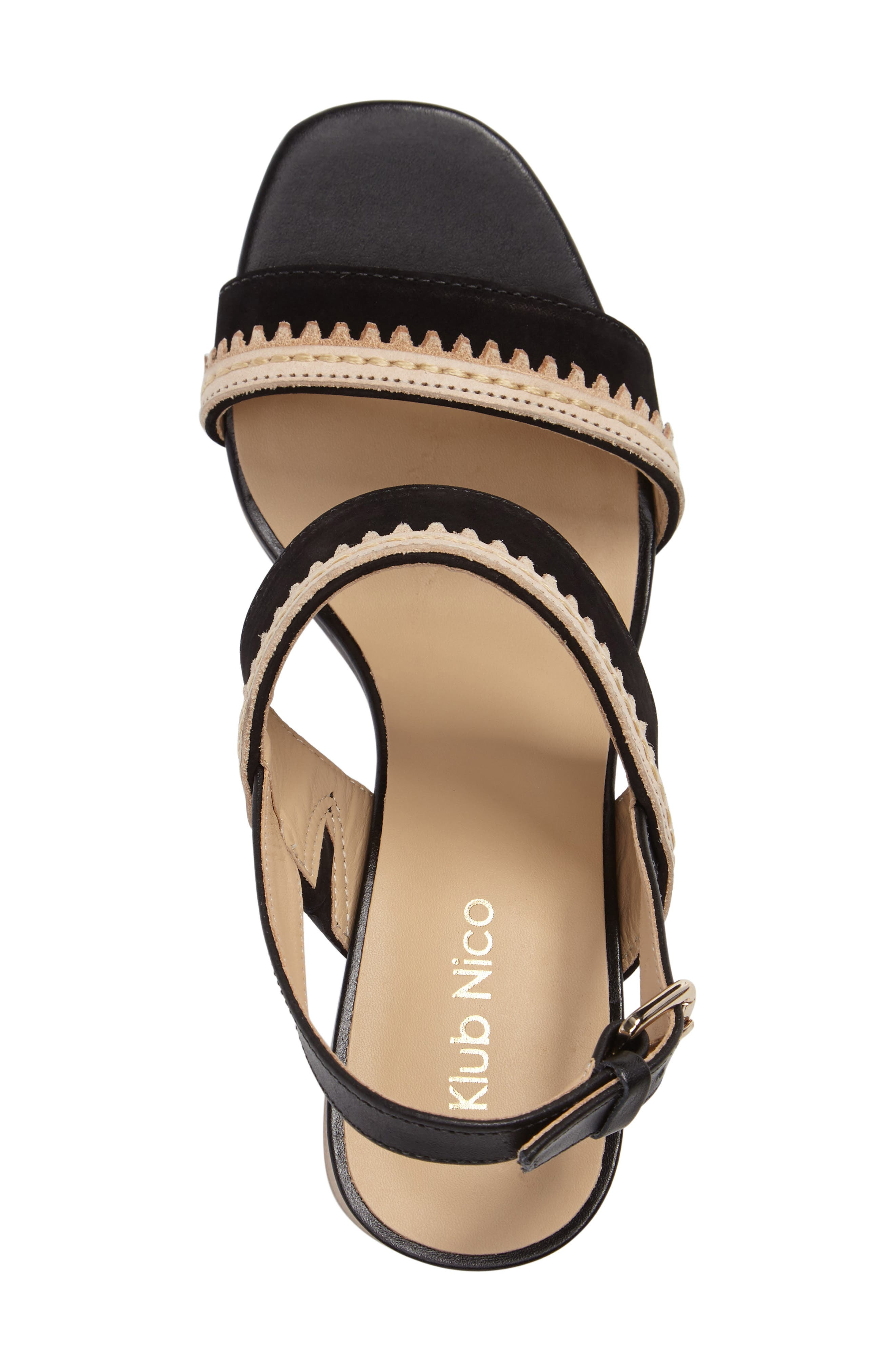 Rycca Block Heel Sandal,                             Alternate thumbnail 7, color,