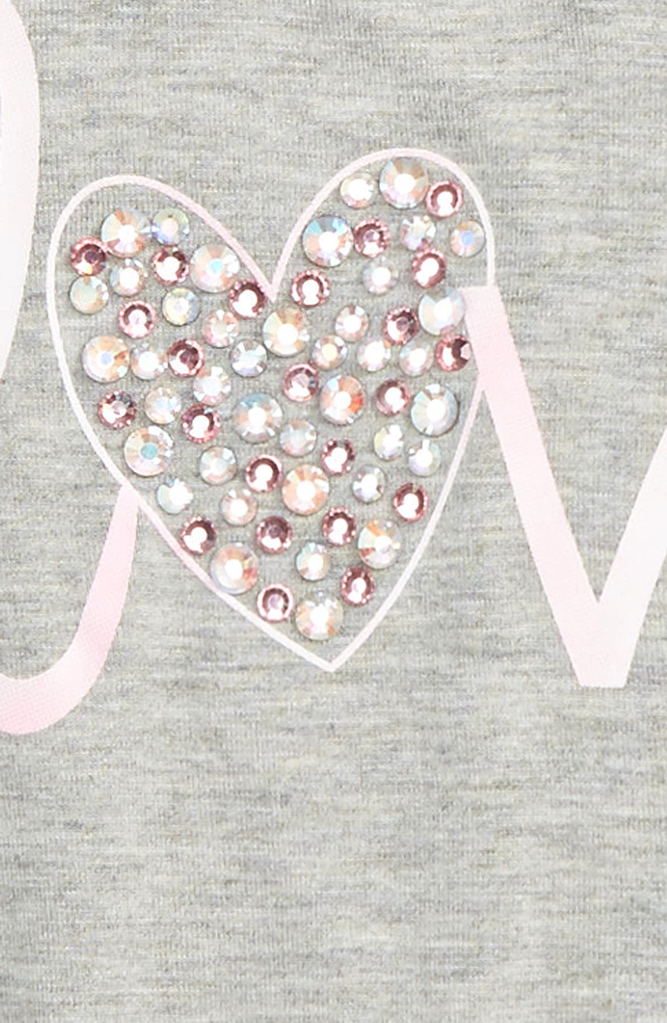 Love Embellished Graphic Tee,                             Alternate thumbnail 2, color,                             020