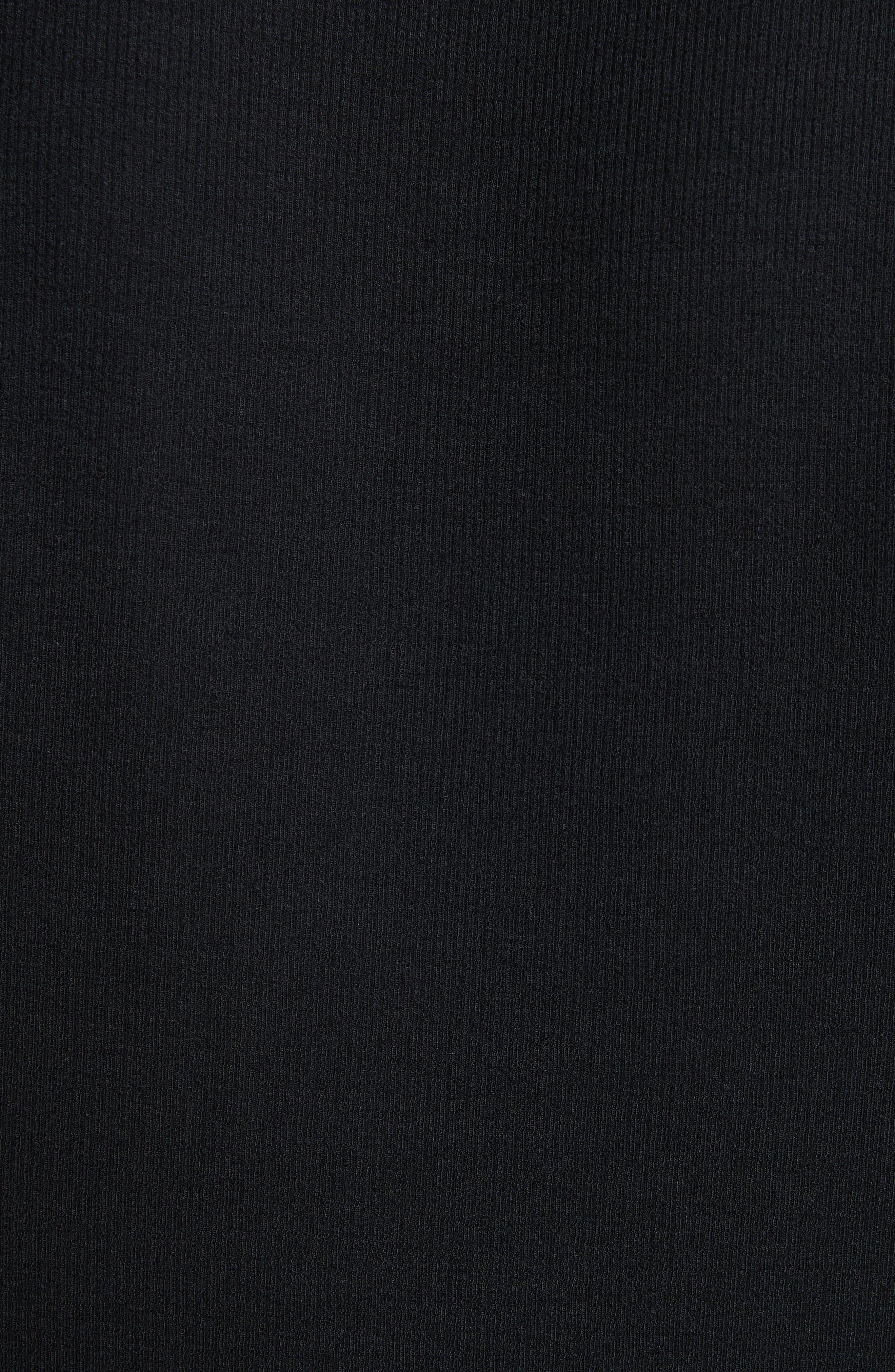 Rib Modal Crewneck Sweater,                             Alternate thumbnail 9, color,