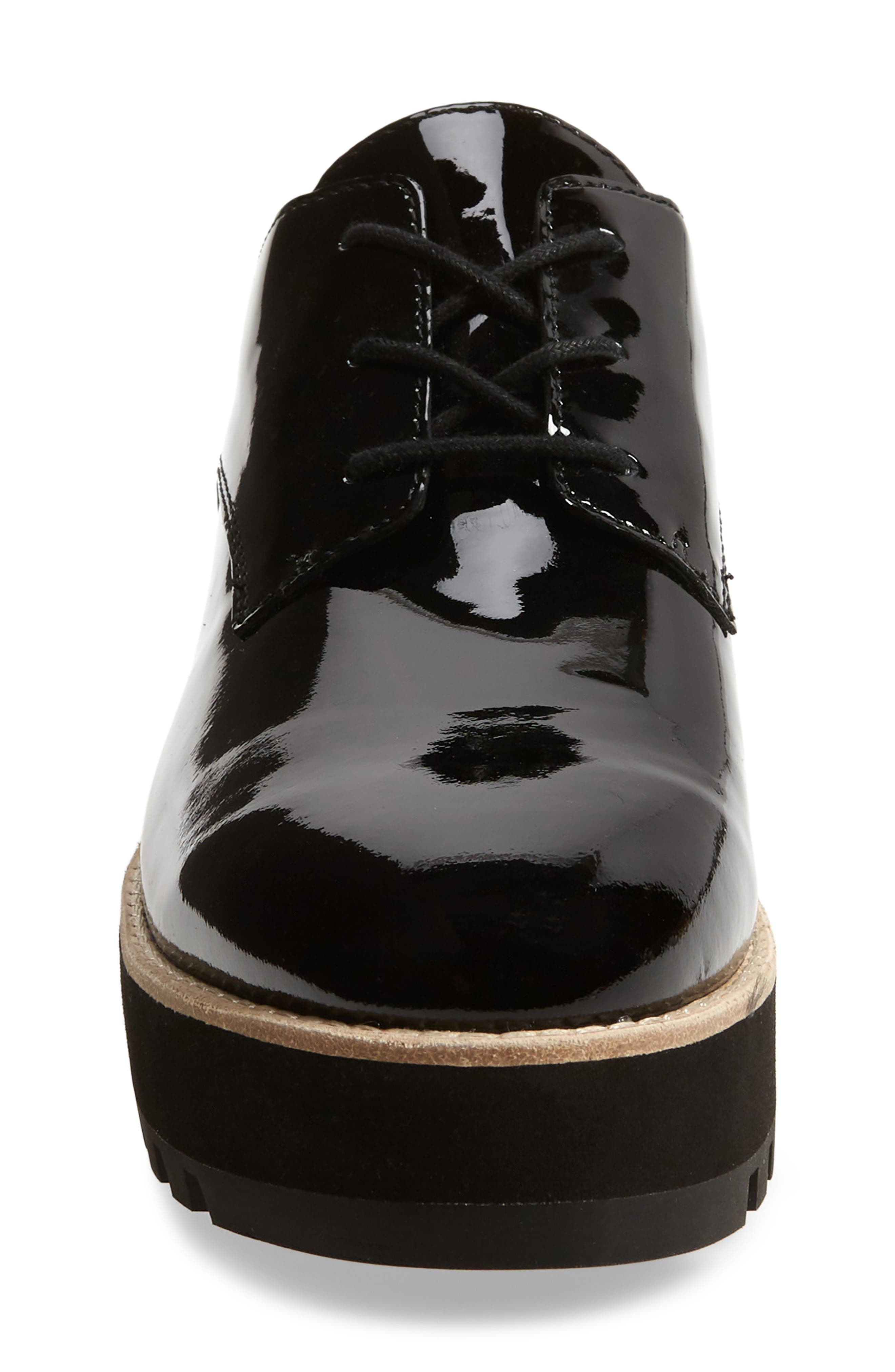 Eddy Derby,                             Alternate thumbnail 4, color,                             BLACK PATENT LEATHER