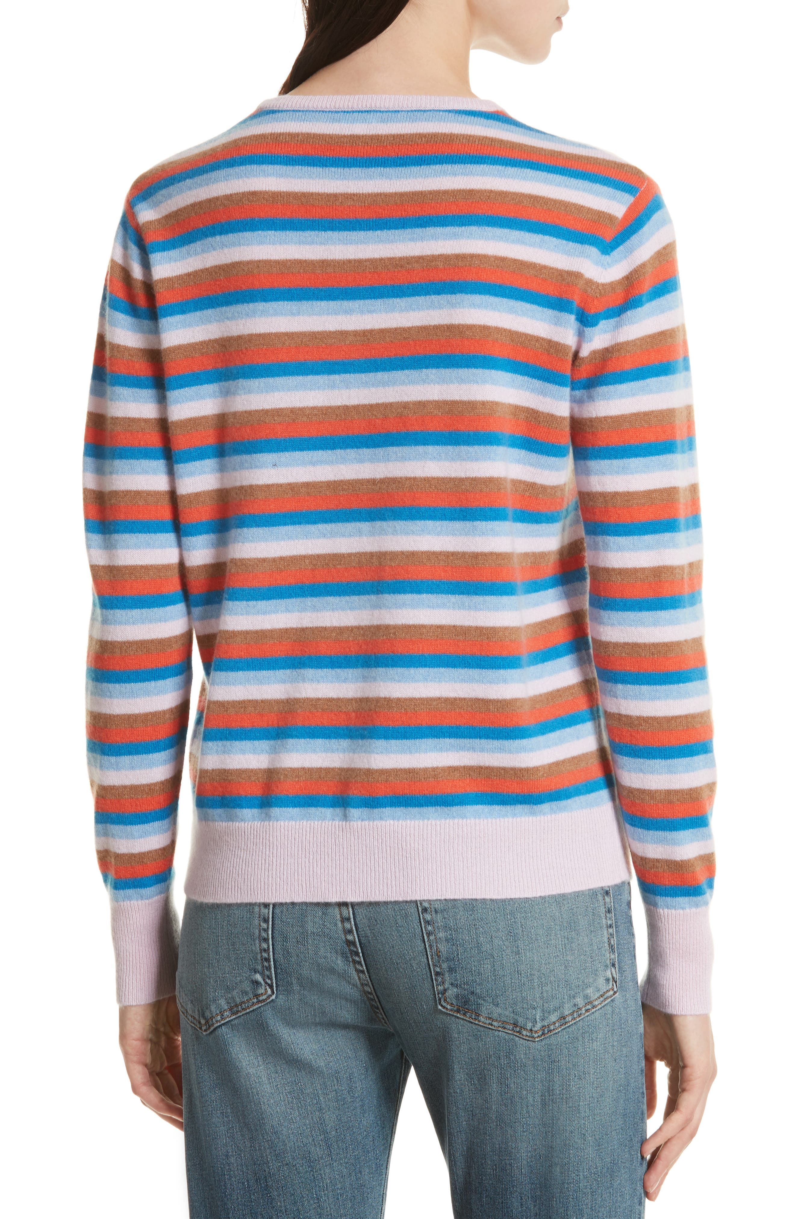 The Raven Cashmere Sweater,                             Alternate thumbnail 2, color,