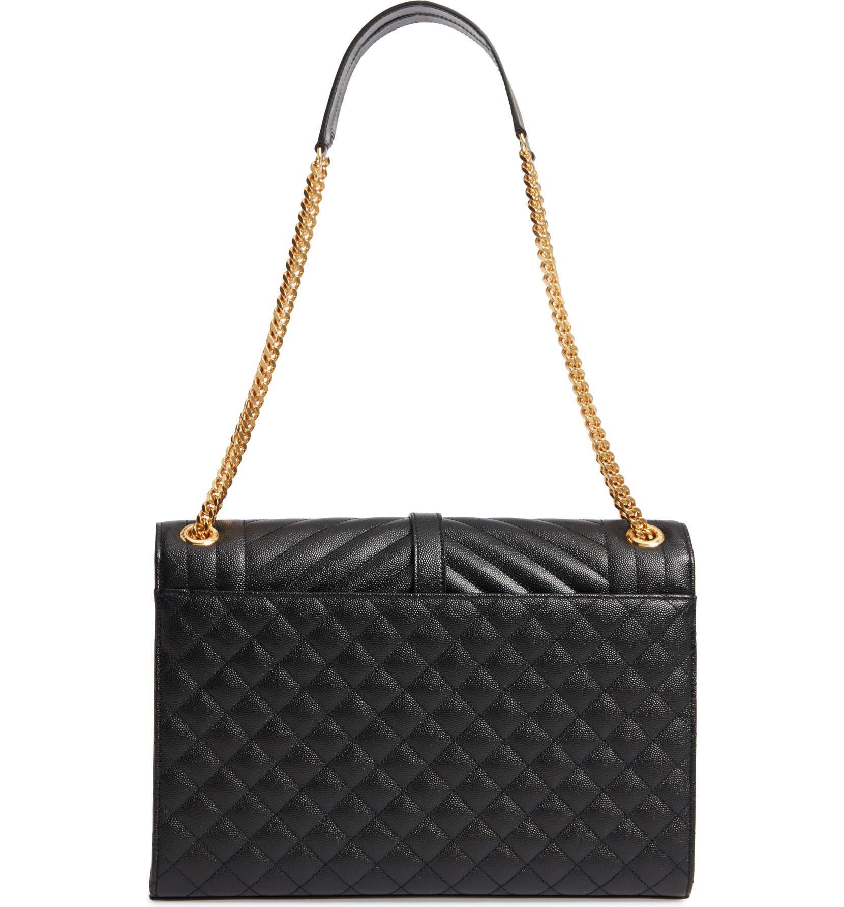 Saint Laurent Large Cassandra Calfskin Shoulder Bag  0e7fbf3a3bc2d