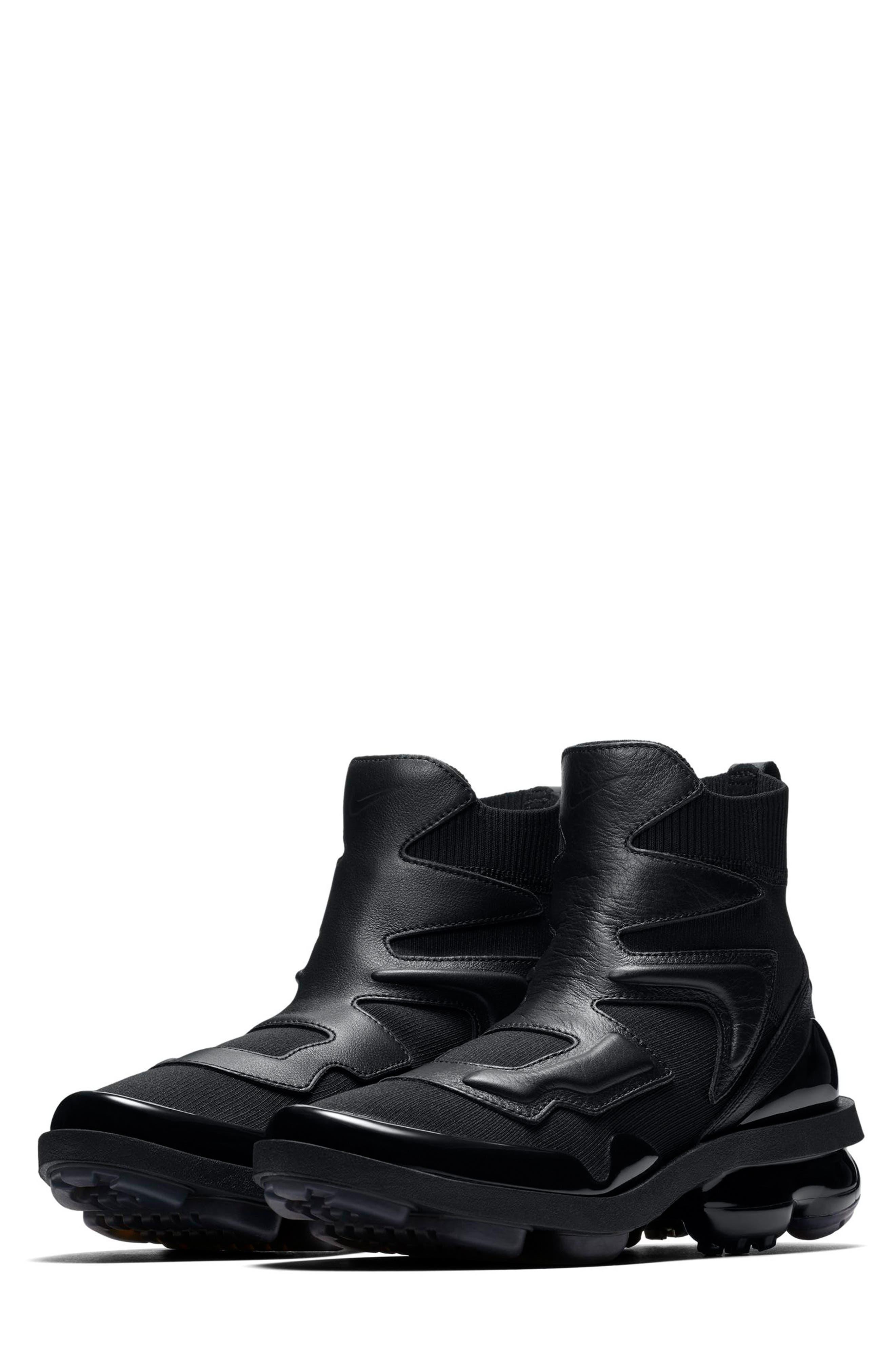 Air Vapormax Light II Sneaker,                         Main,                         color, BLACK/ BLACK