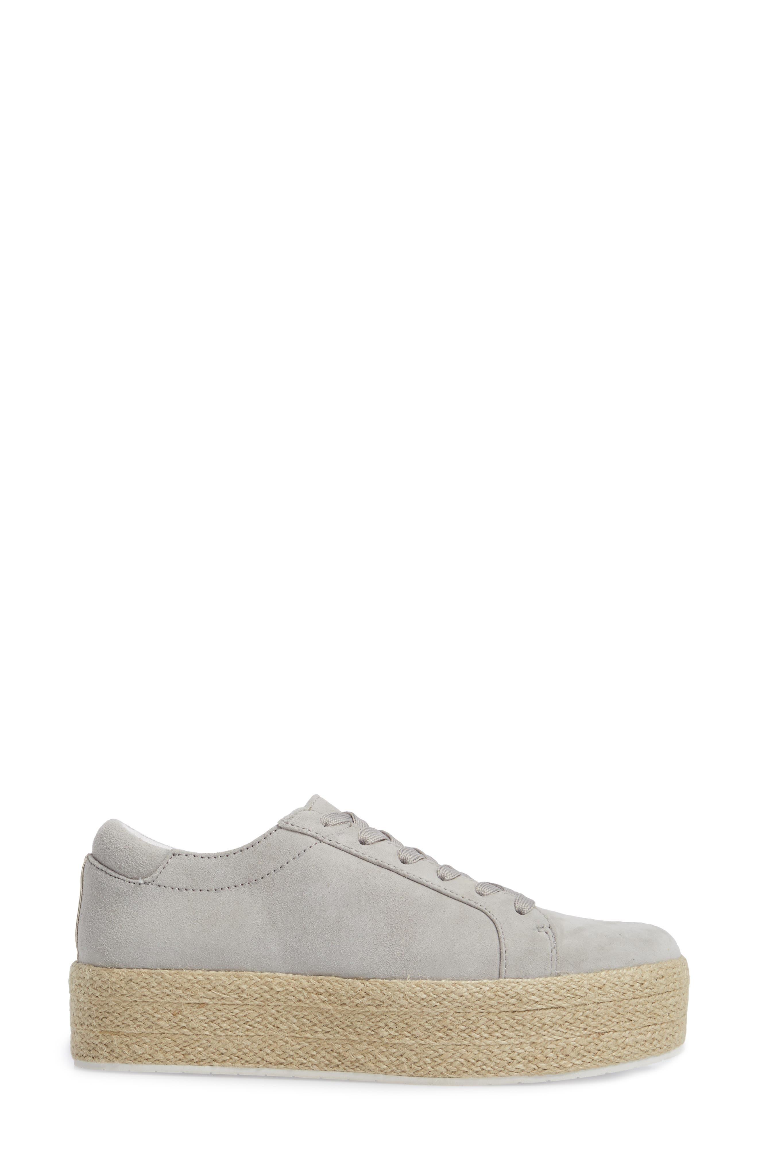 Allyson Espadrille Platform Sneaker,                             Alternate thumbnail 9, color,