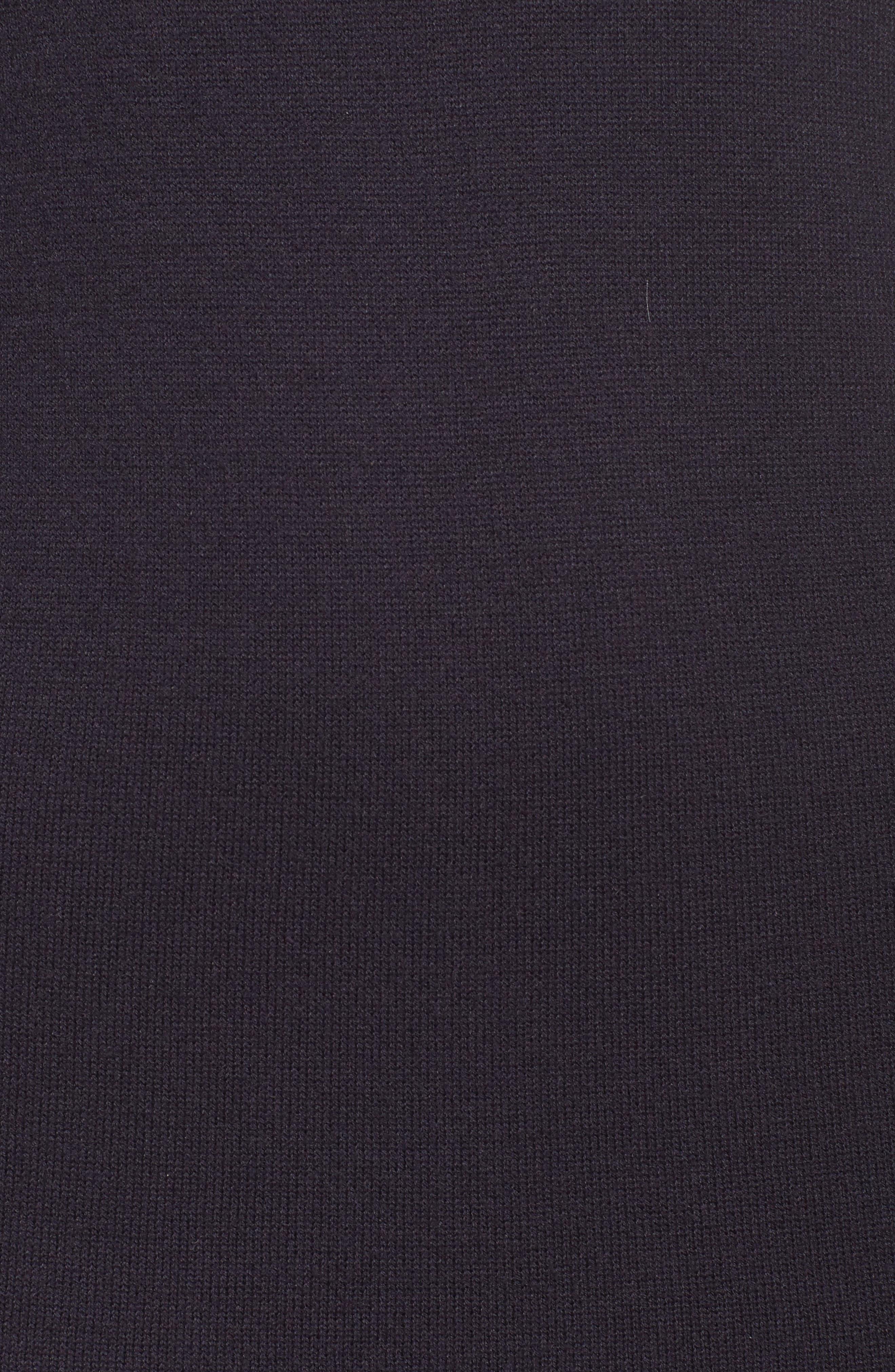 Bell Sleeve Sweater Dress,                             Alternate thumbnail 5, color,                             400