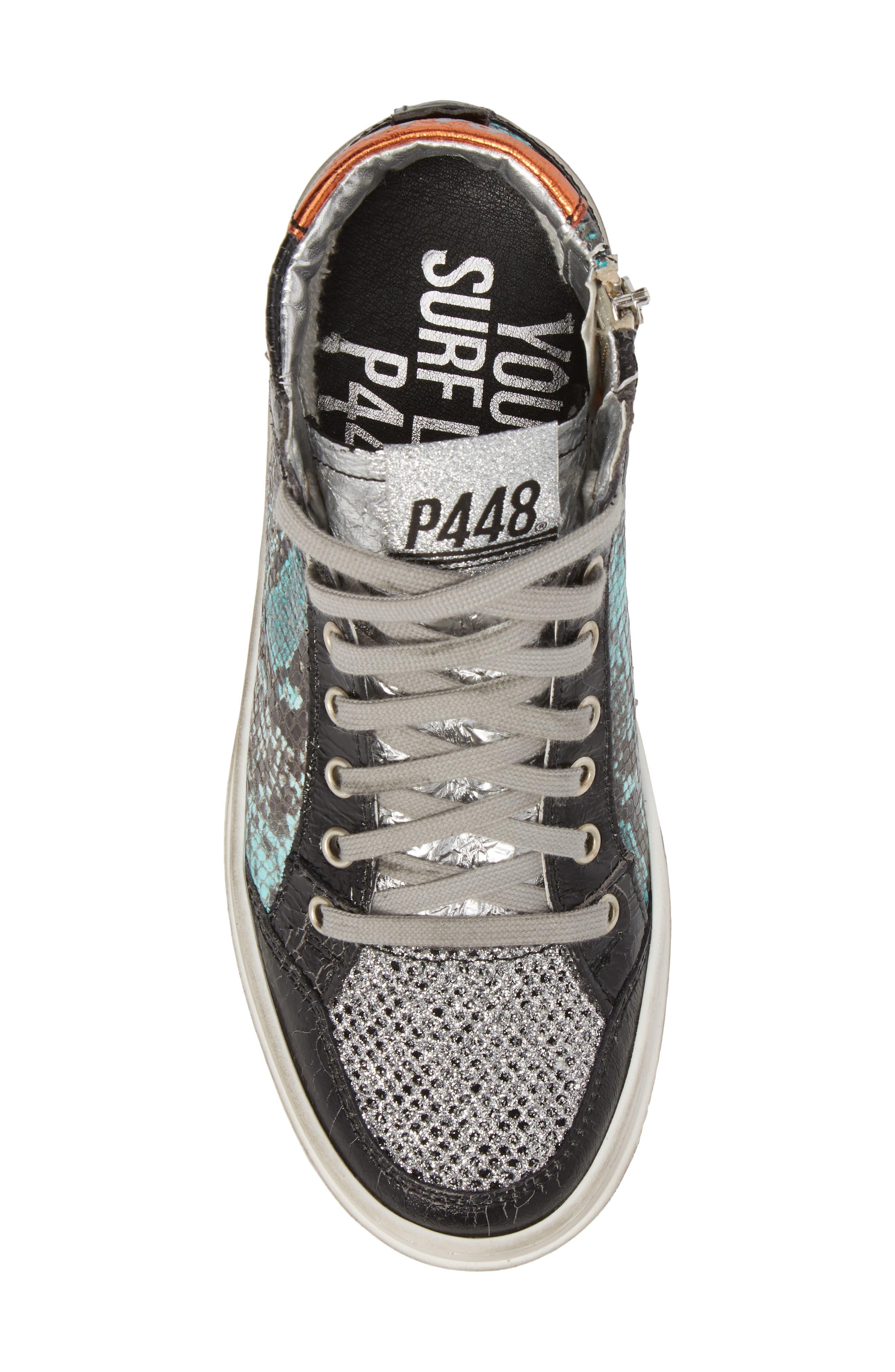 Love High Top Sneaker,                             Alternate thumbnail 5, color,