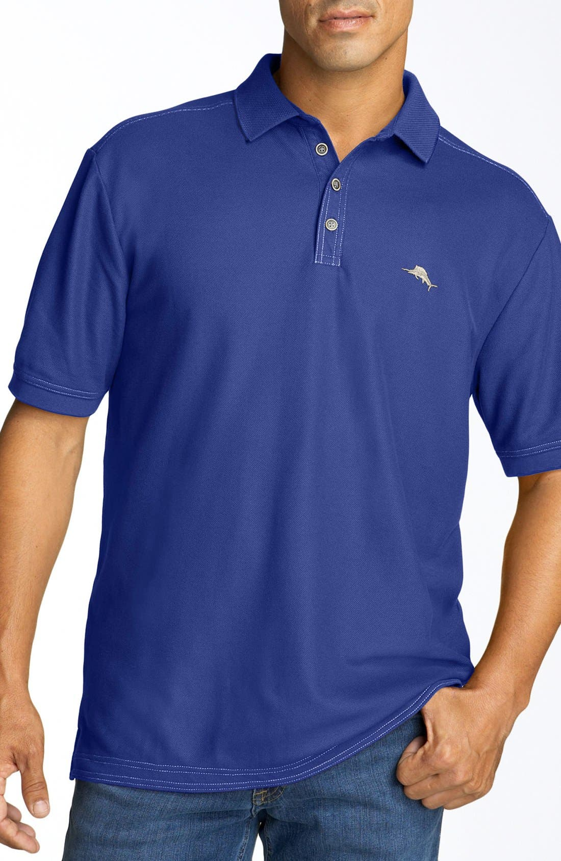 'The Emfielder' Original Fit Piqué Polo,                             Main thumbnail 59, color,