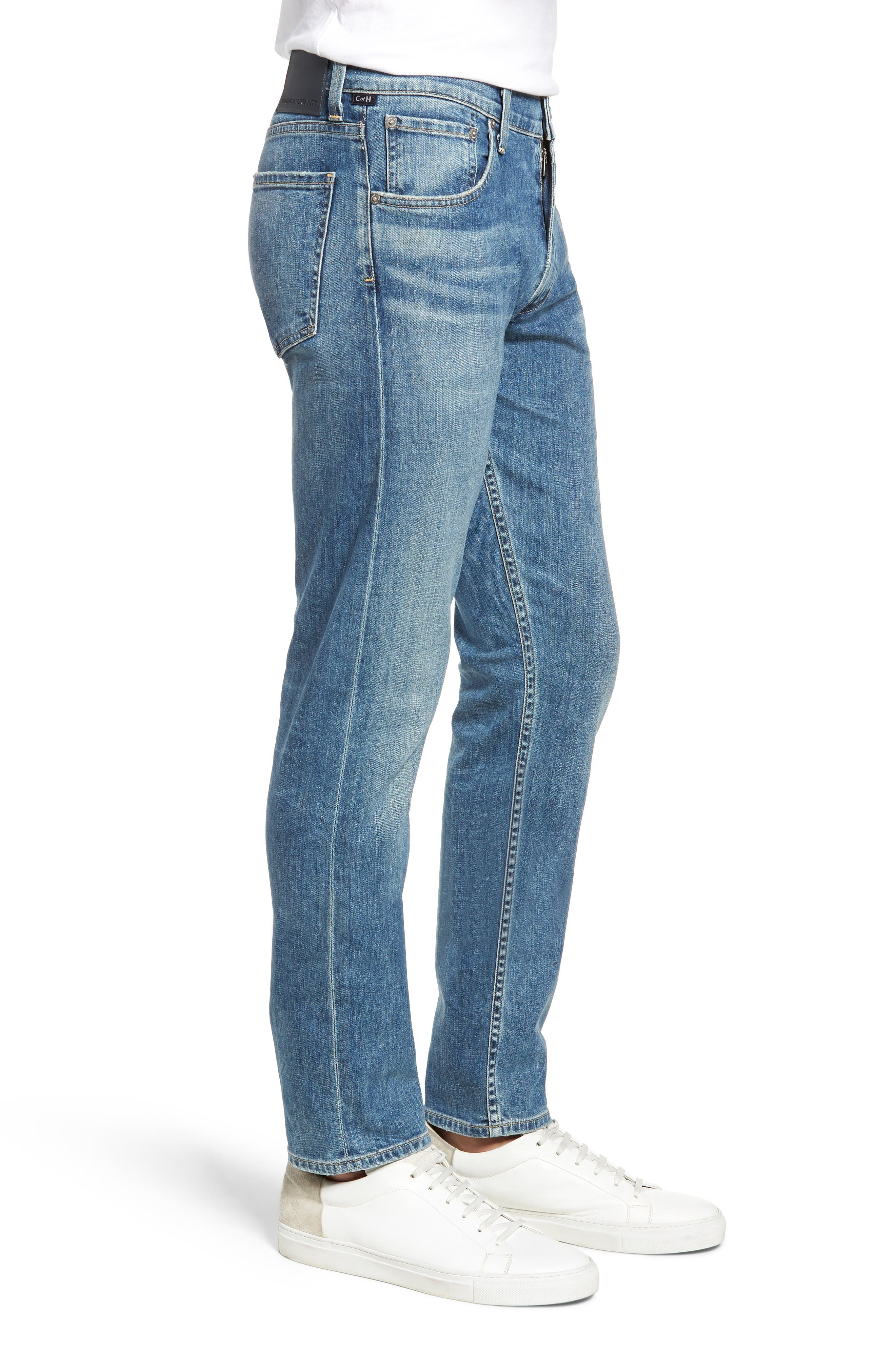 Bowery Slim Fit Jeans,                             Alternate thumbnail 3, color,                             ALAND