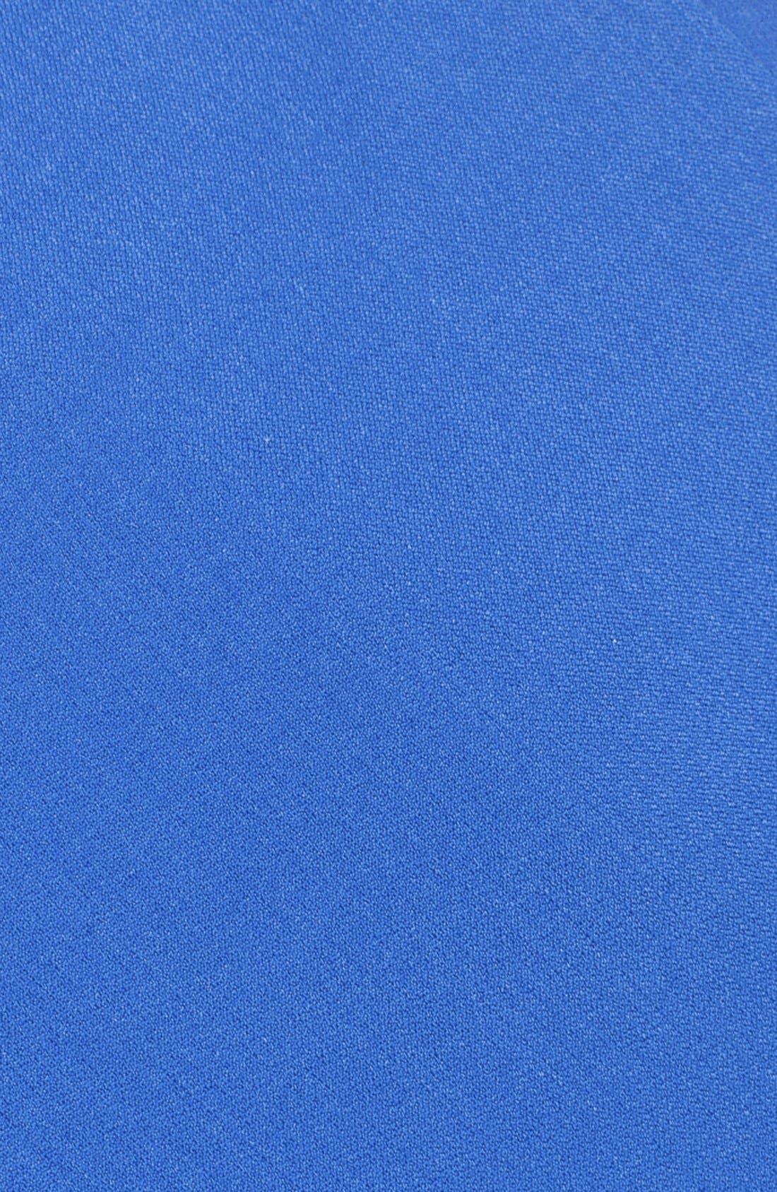 Ruched Matte Stretch Crepe Sheath Dress,                             Alternate thumbnail 2, color,                             433