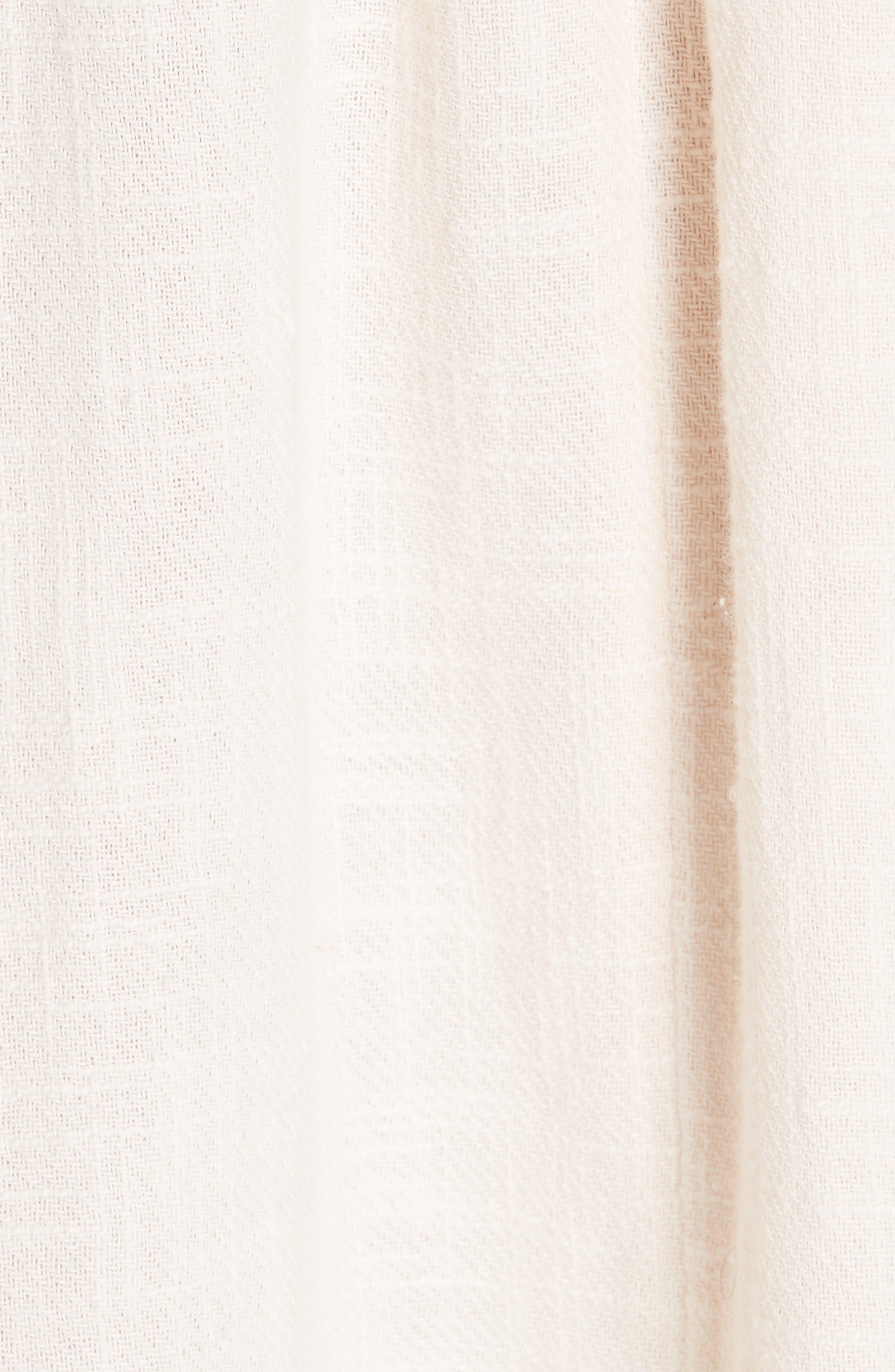 Love of My Life Midi Dress,                             Alternate thumbnail 7, color,                             IVORY