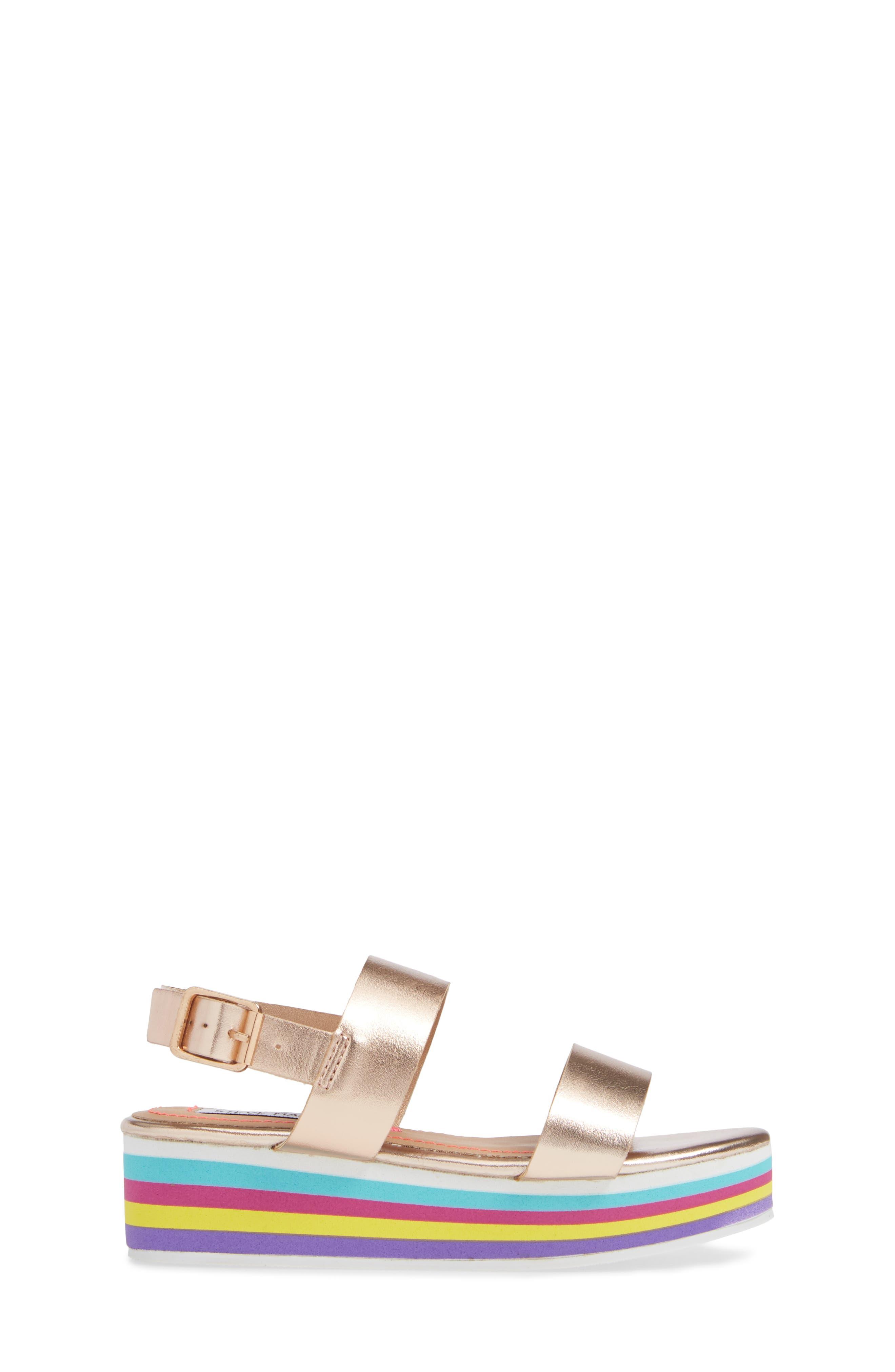 JKylie Platform Sandal,                             Alternate thumbnail 3, color,                             ROSE GOLD