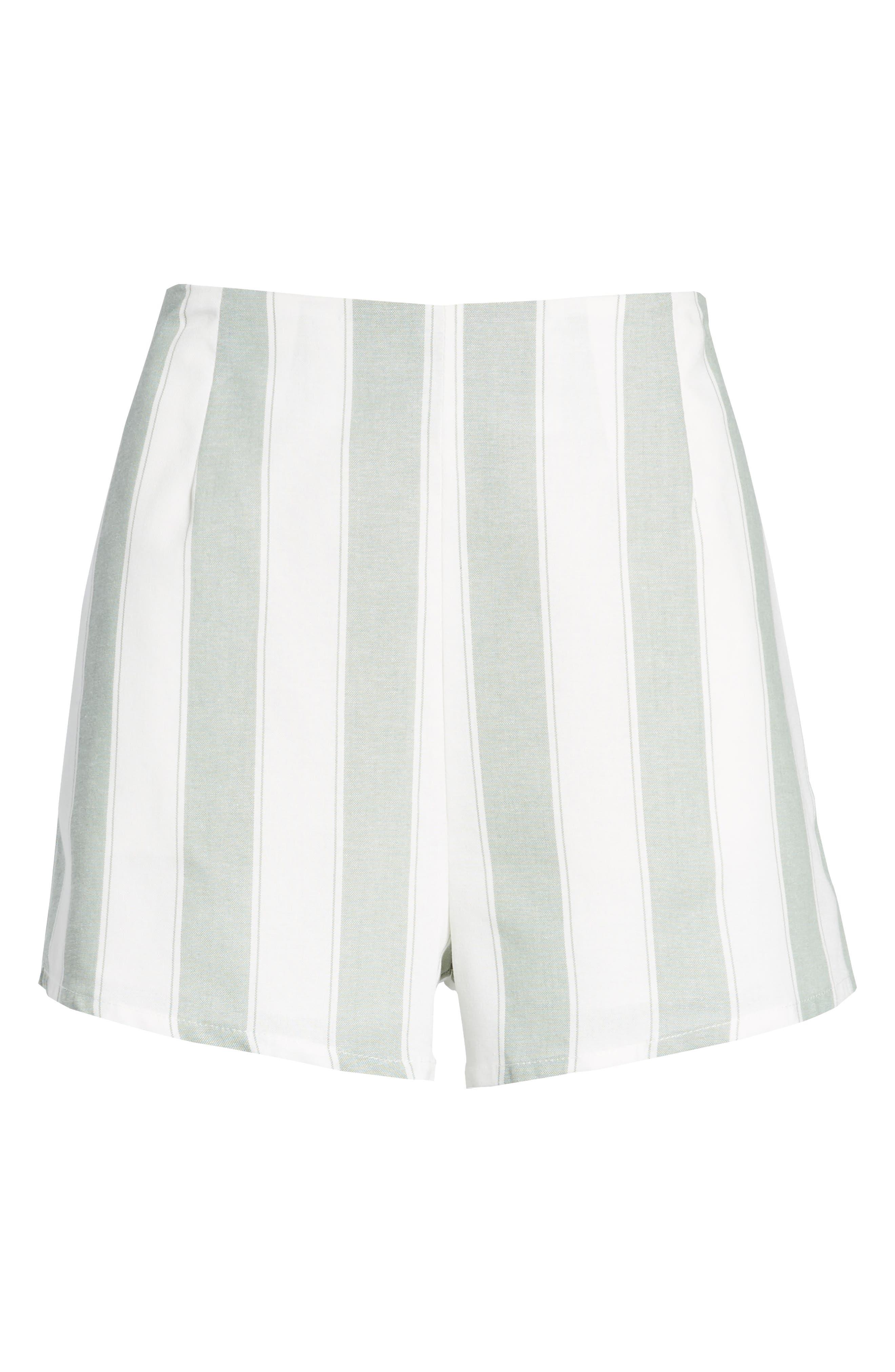 Poetic Stripe Shorts,                             Alternate thumbnail 6, color,