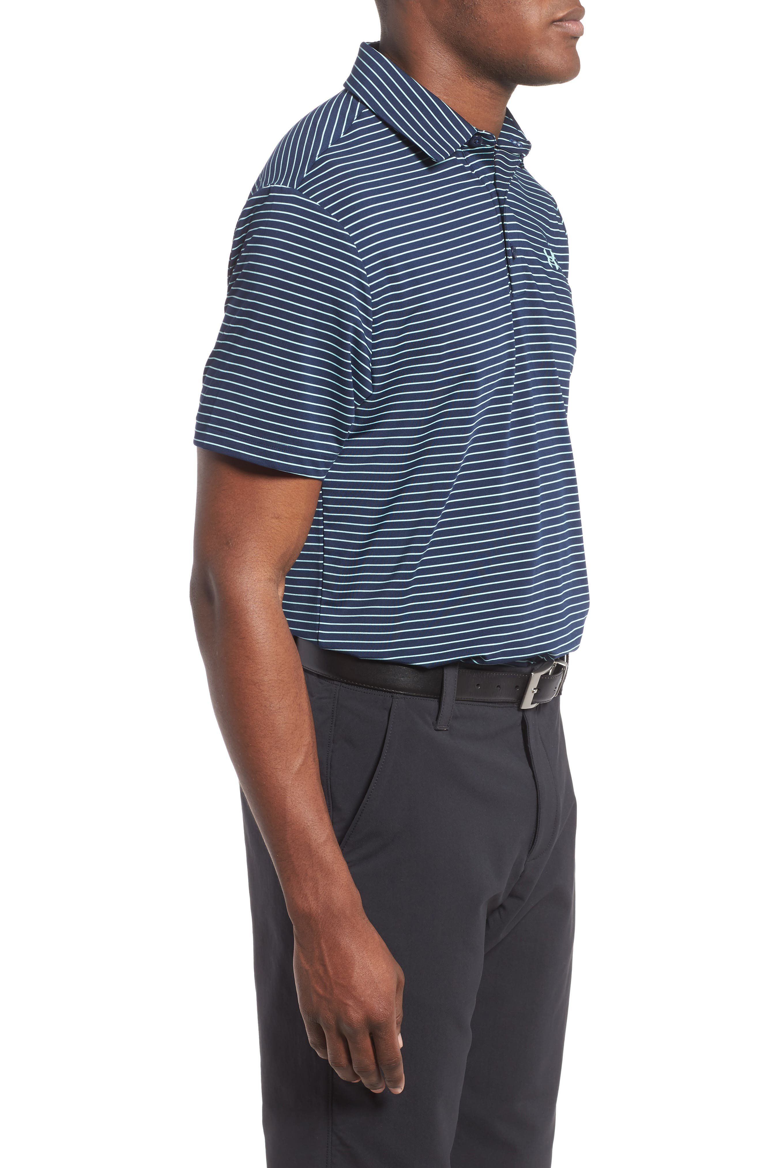 'Playoff' Loose Fit Short Sleeve Polo,                             Alternate thumbnail 150, color,