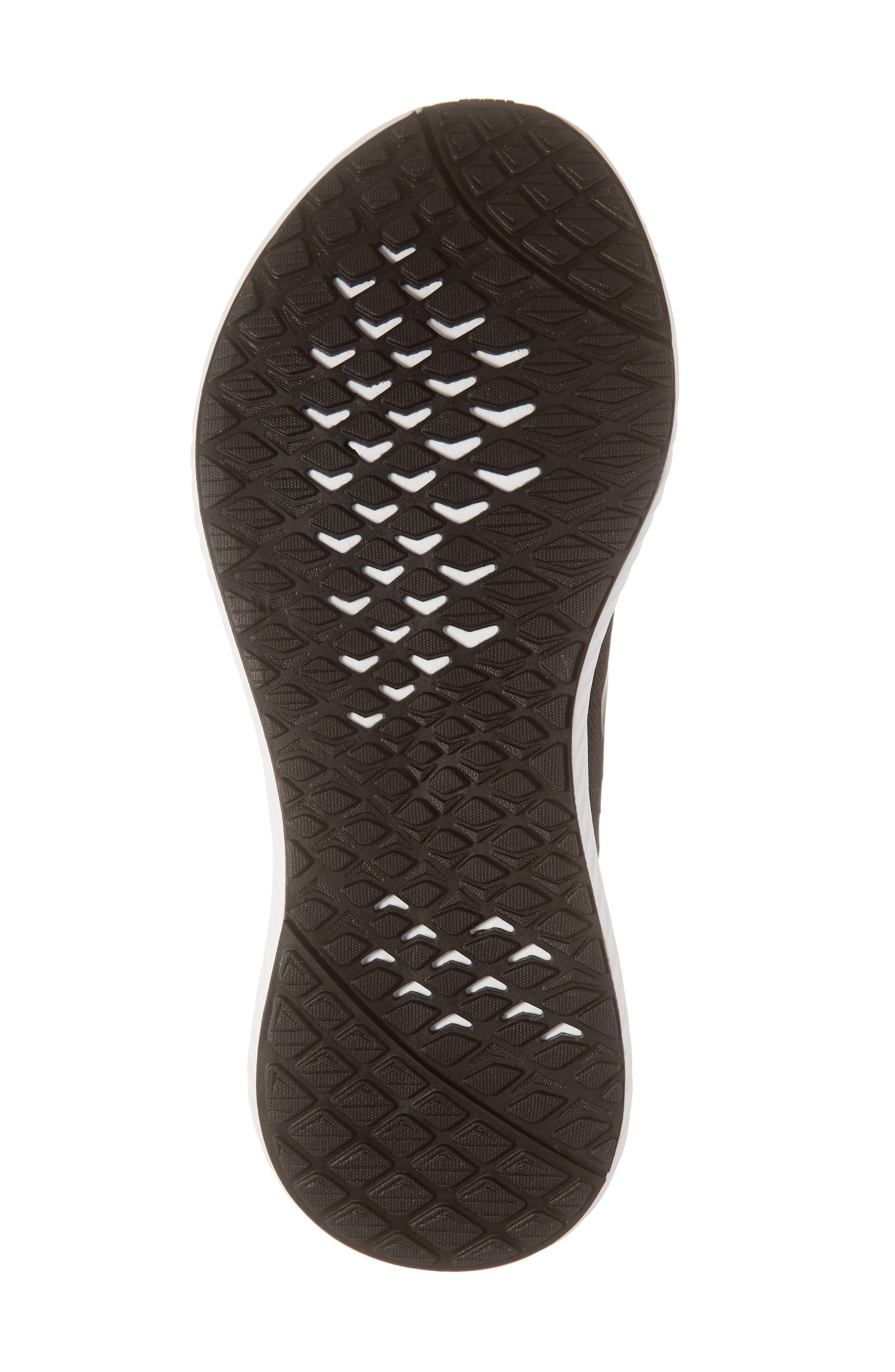 ADIDAS,                             Edge Lux 3 Running Shoe,                             Alternate thumbnail 6, color,                             CORE BLACK/ WHITE