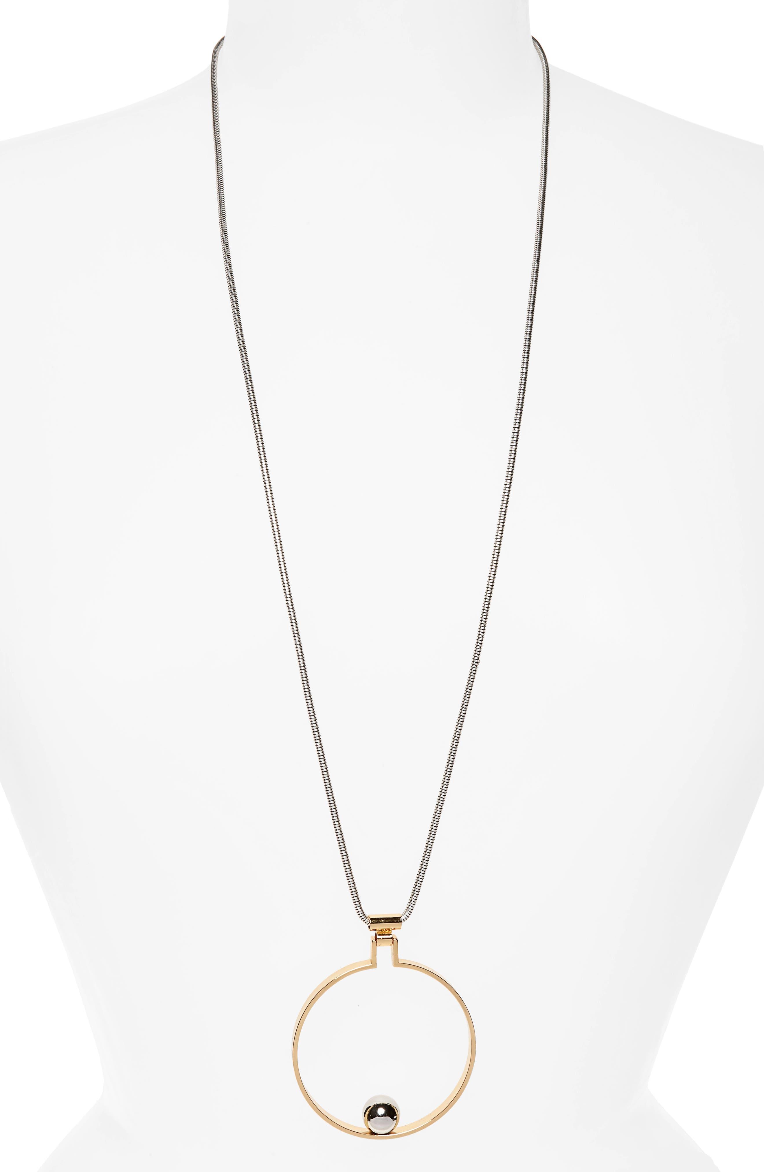 Saros Pendant Necklace,                         Main,                         color, 710