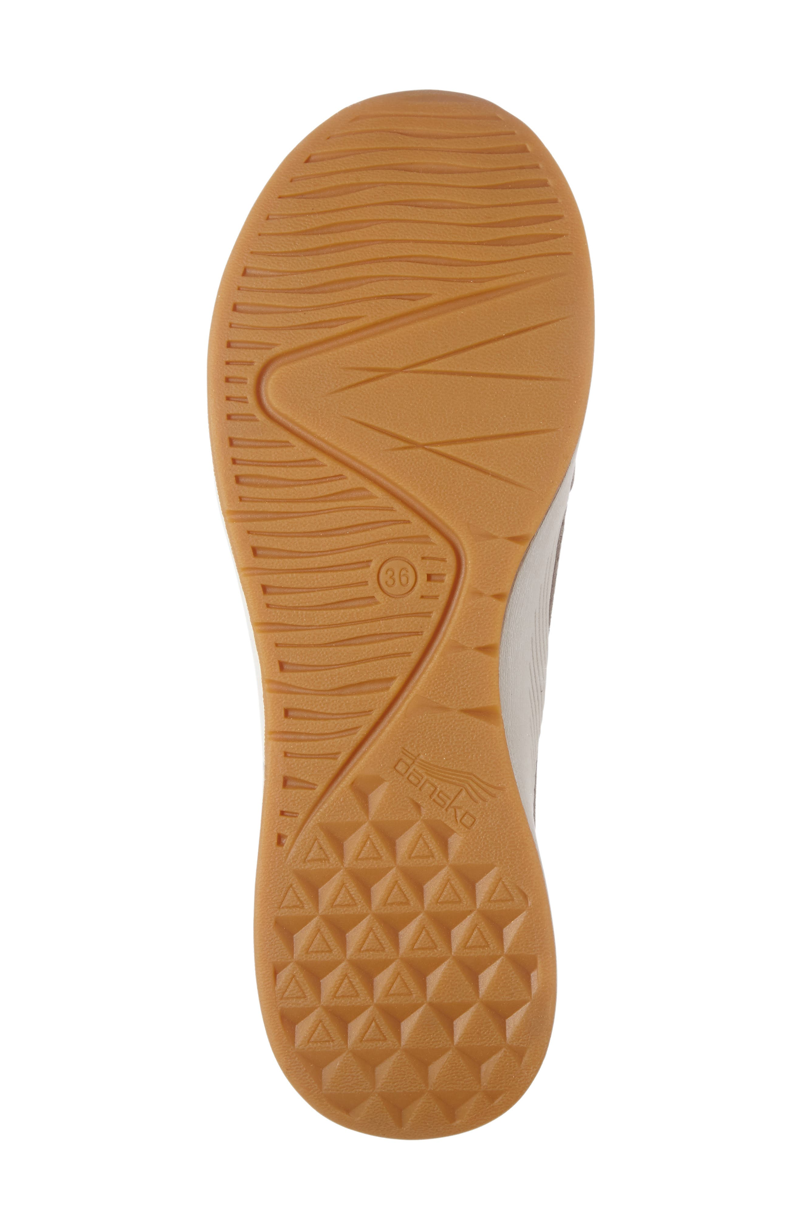 Charlie Perforated Sneaker,                             Alternate thumbnail 4, color,                             WALNUT SUEDE