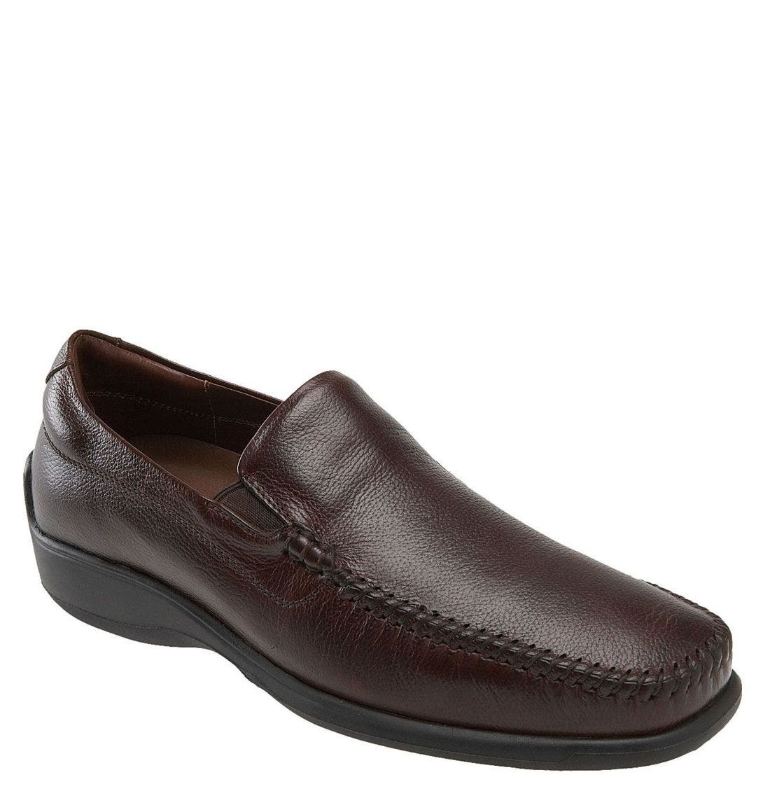 'Rome' Loafer,                         Main,                         color, WALNUT
