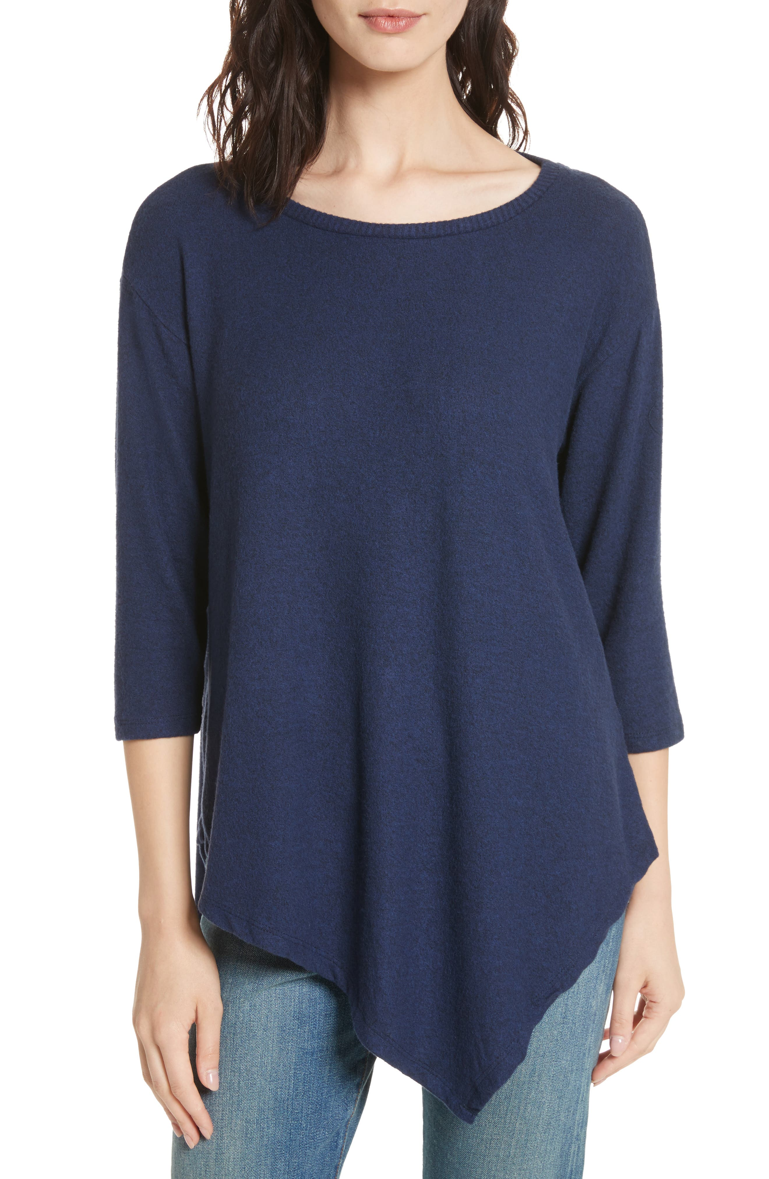 Soft Joie Tammy Asymmetrical Sweater,                             Main thumbnail 1, color,                             404