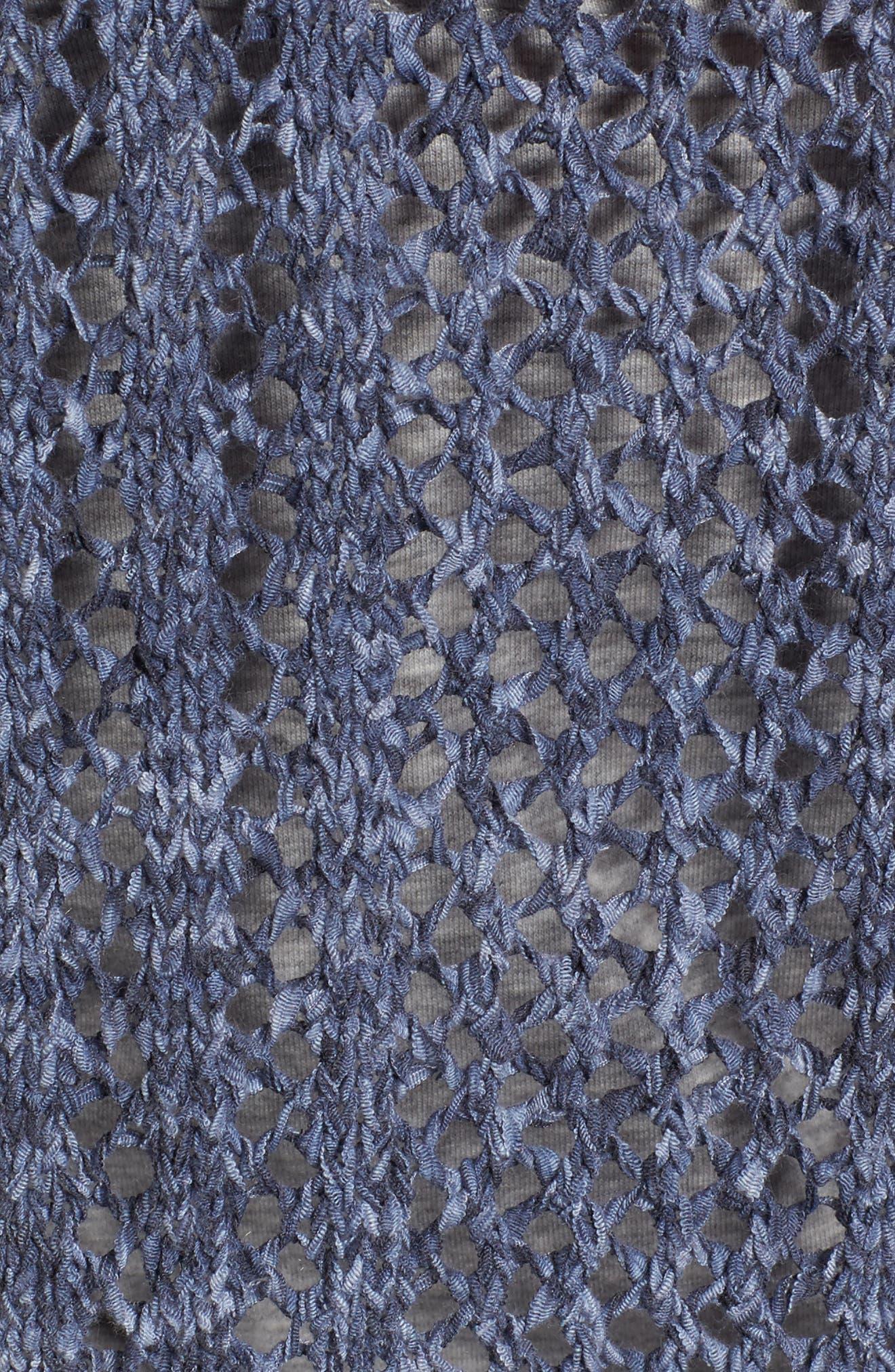 Knox Crochet Sweater,                             Alternate thumbnail 5, color,