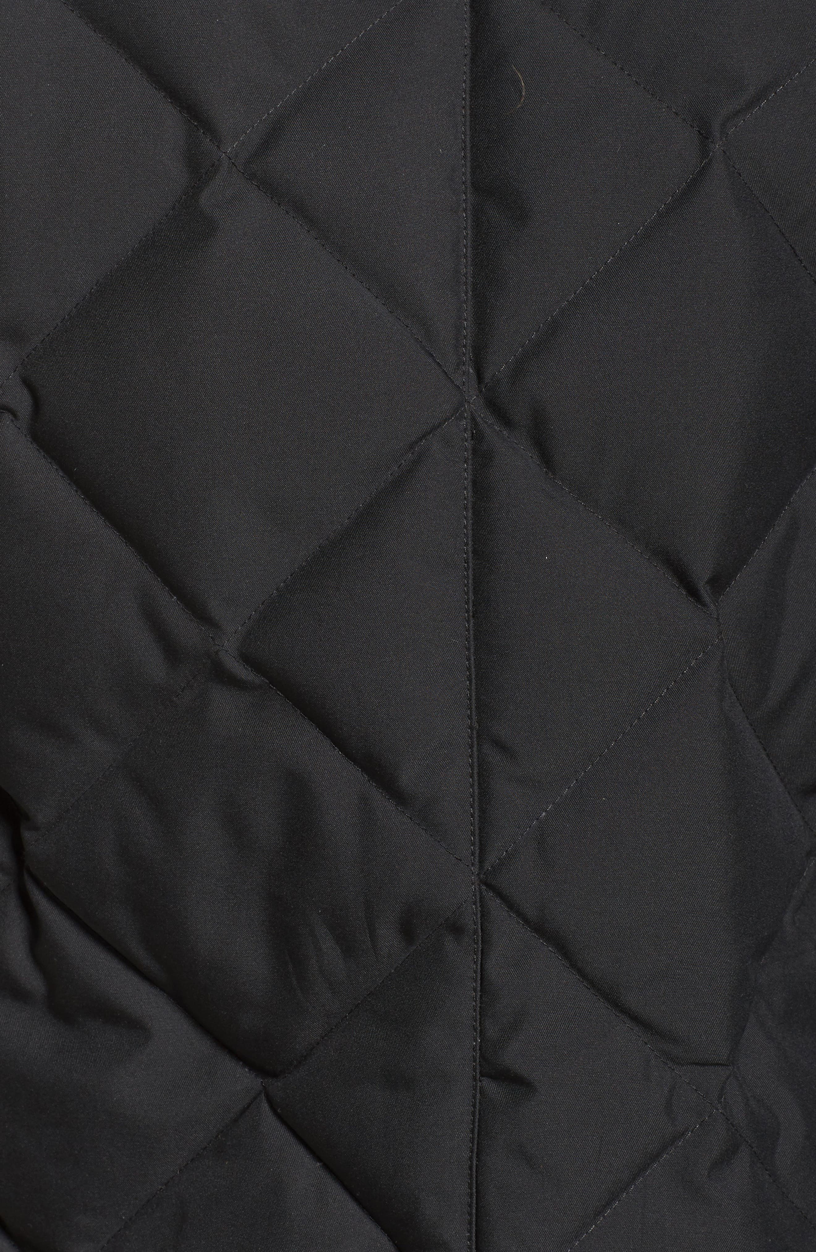 Bixby Long Down Jacket,                             Alternate thumbnail 7, color,                             001