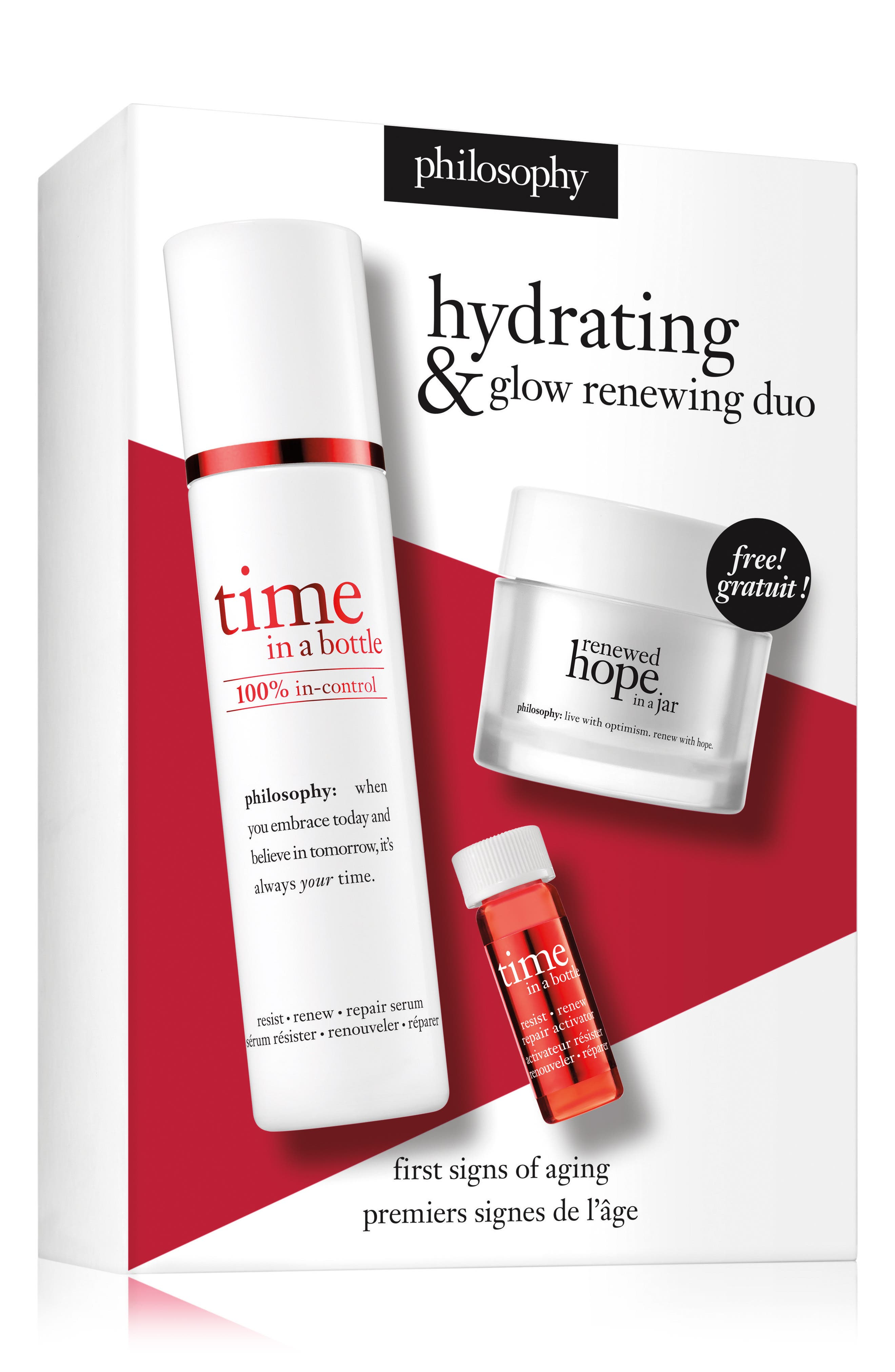 hydrating & glow renewing duo,                             Alternate thumbnail 2, color,                             000
