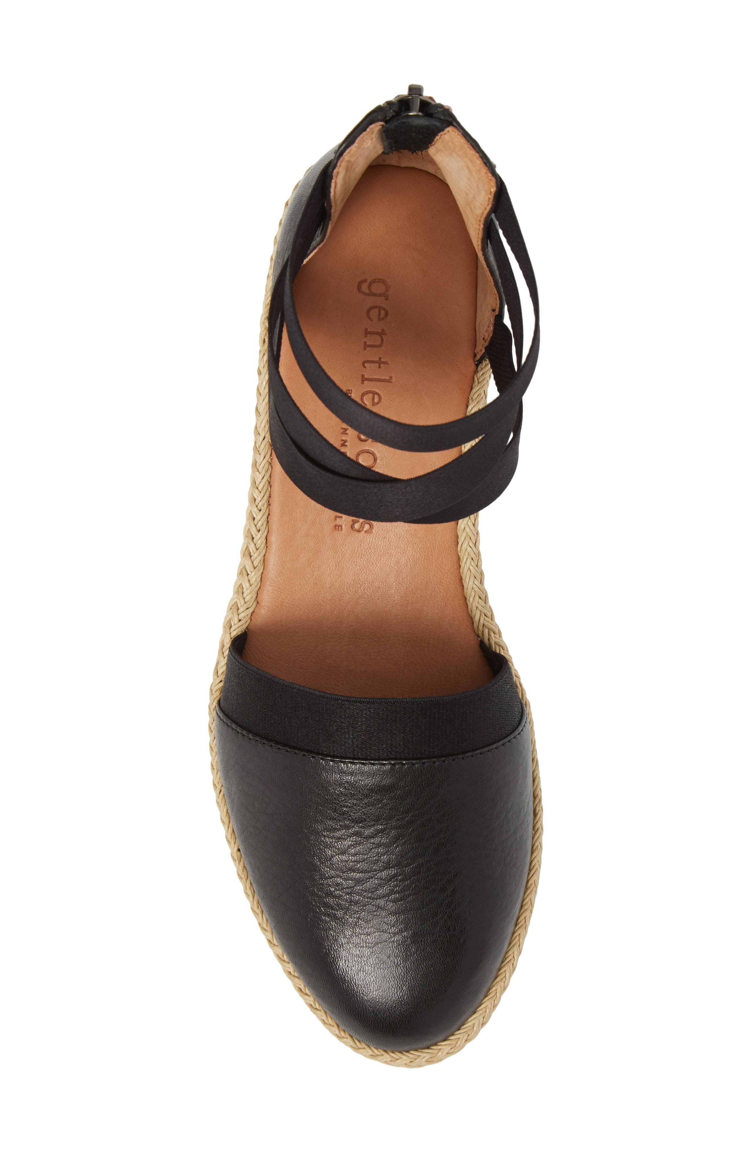 by Kenneth Cole Beth Espadrille Sandal,                             Alternate thumbnail 5, color,                             001