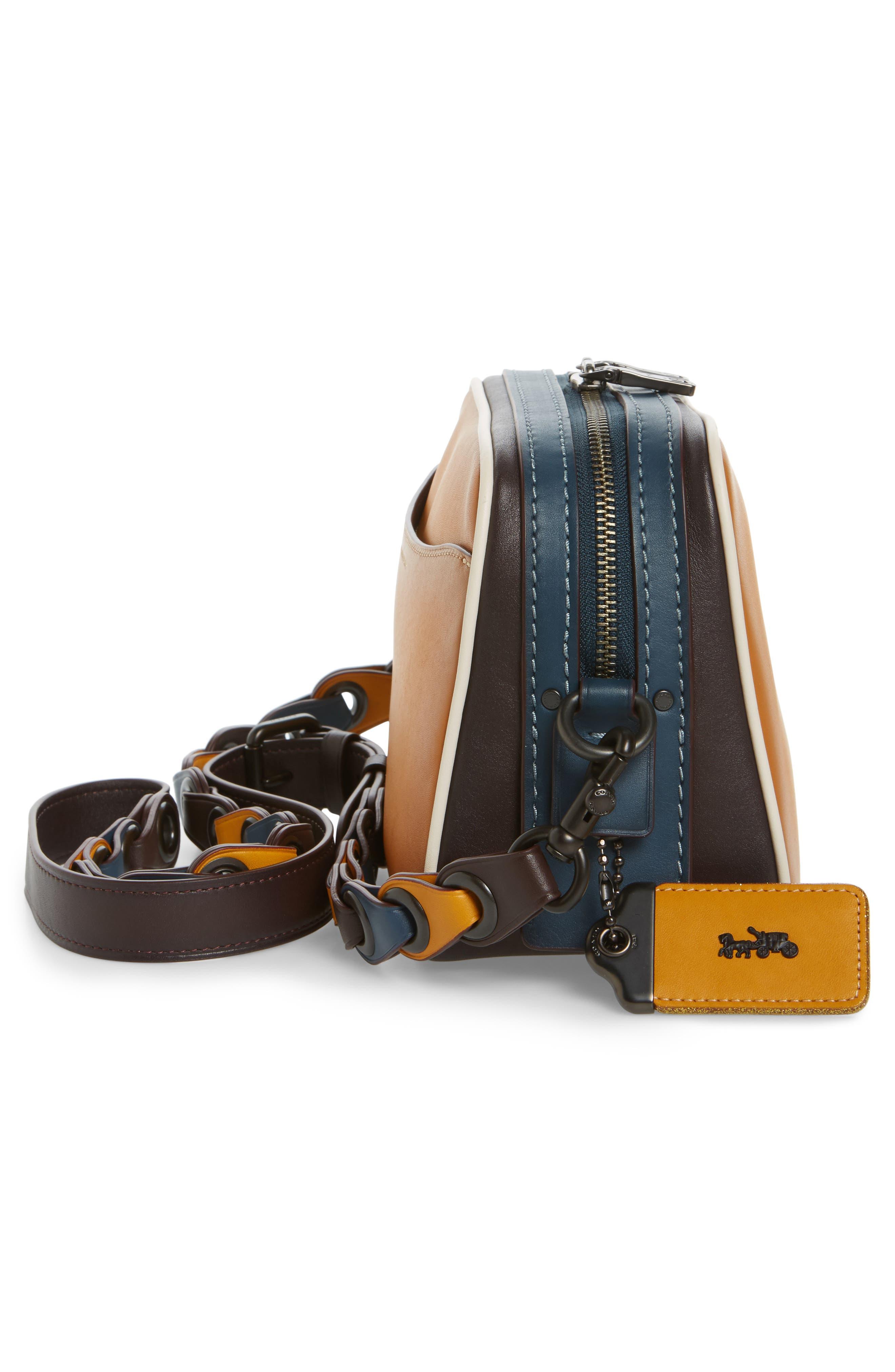 Rexy Leather Crossbody Bag,                             Alternate thumbnail 5, color,                             720